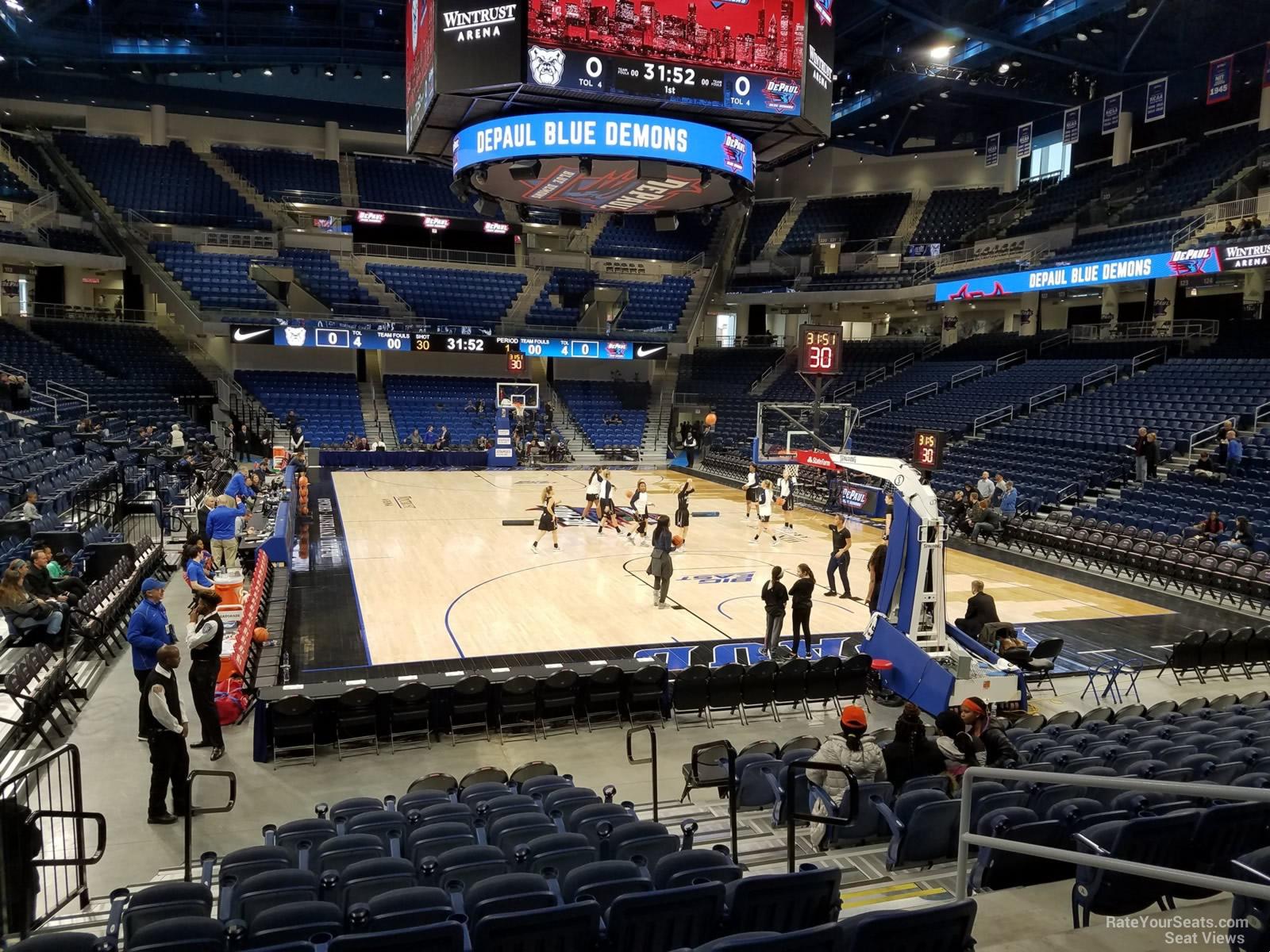 Exterior: Wintrust Arena Section 103