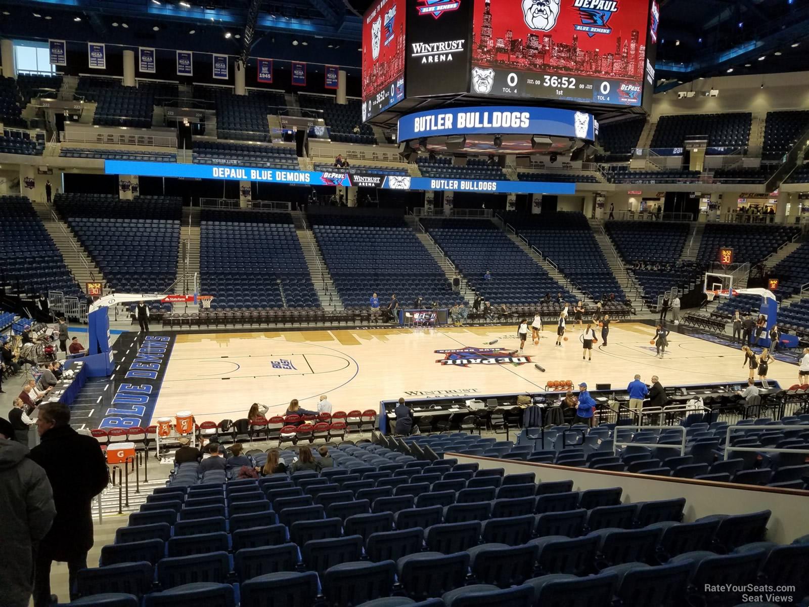 Exterior: Wintrust Arena Section 111