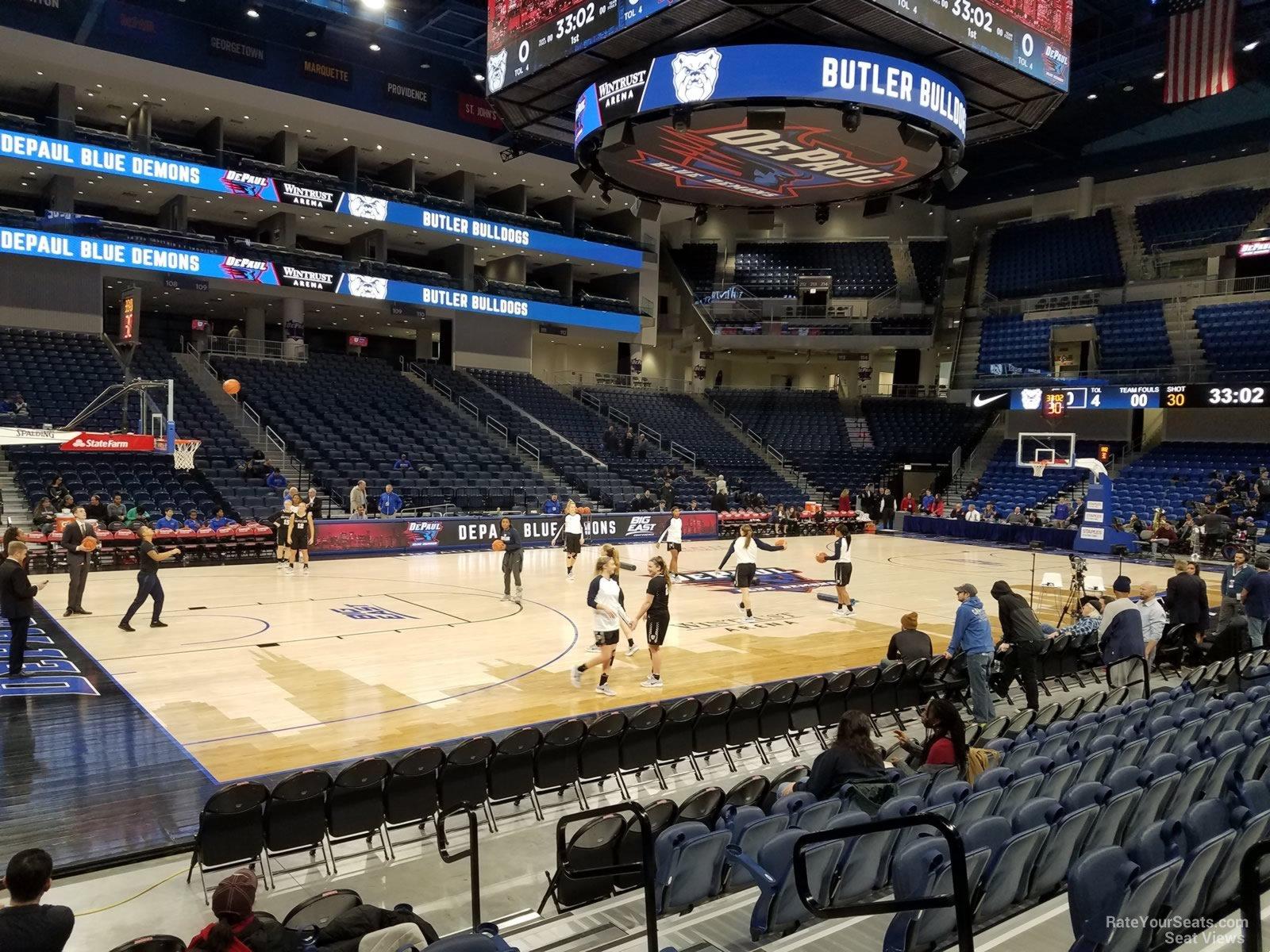 Exterior: Wintrust Arena Section 126