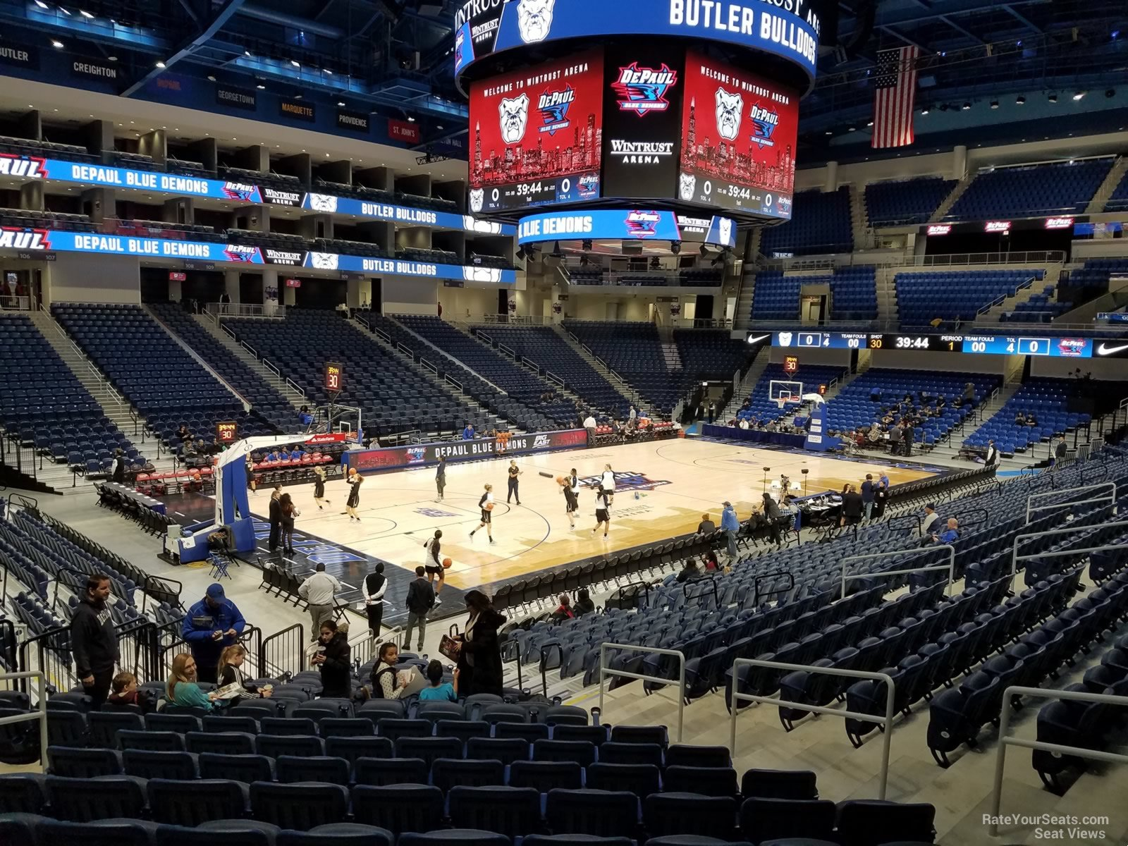 Exterior: Wintrust Arena Section 127