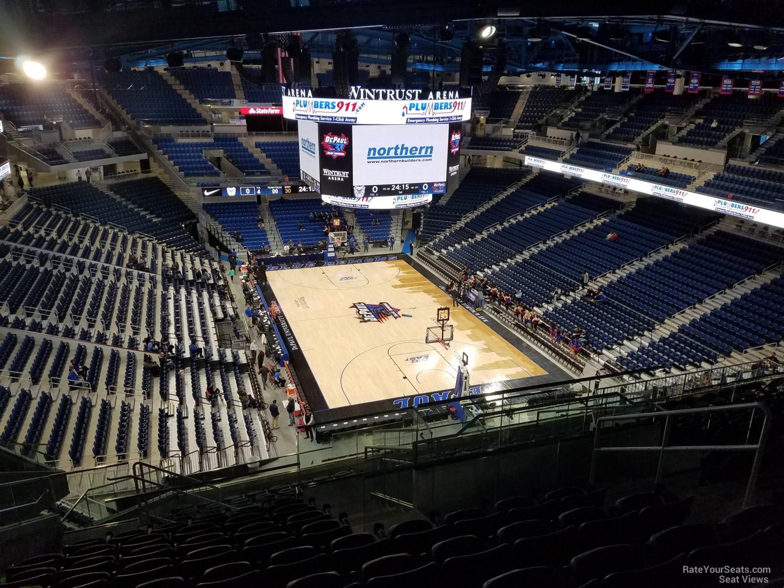 Exterior: Wintrust Arena Section 204