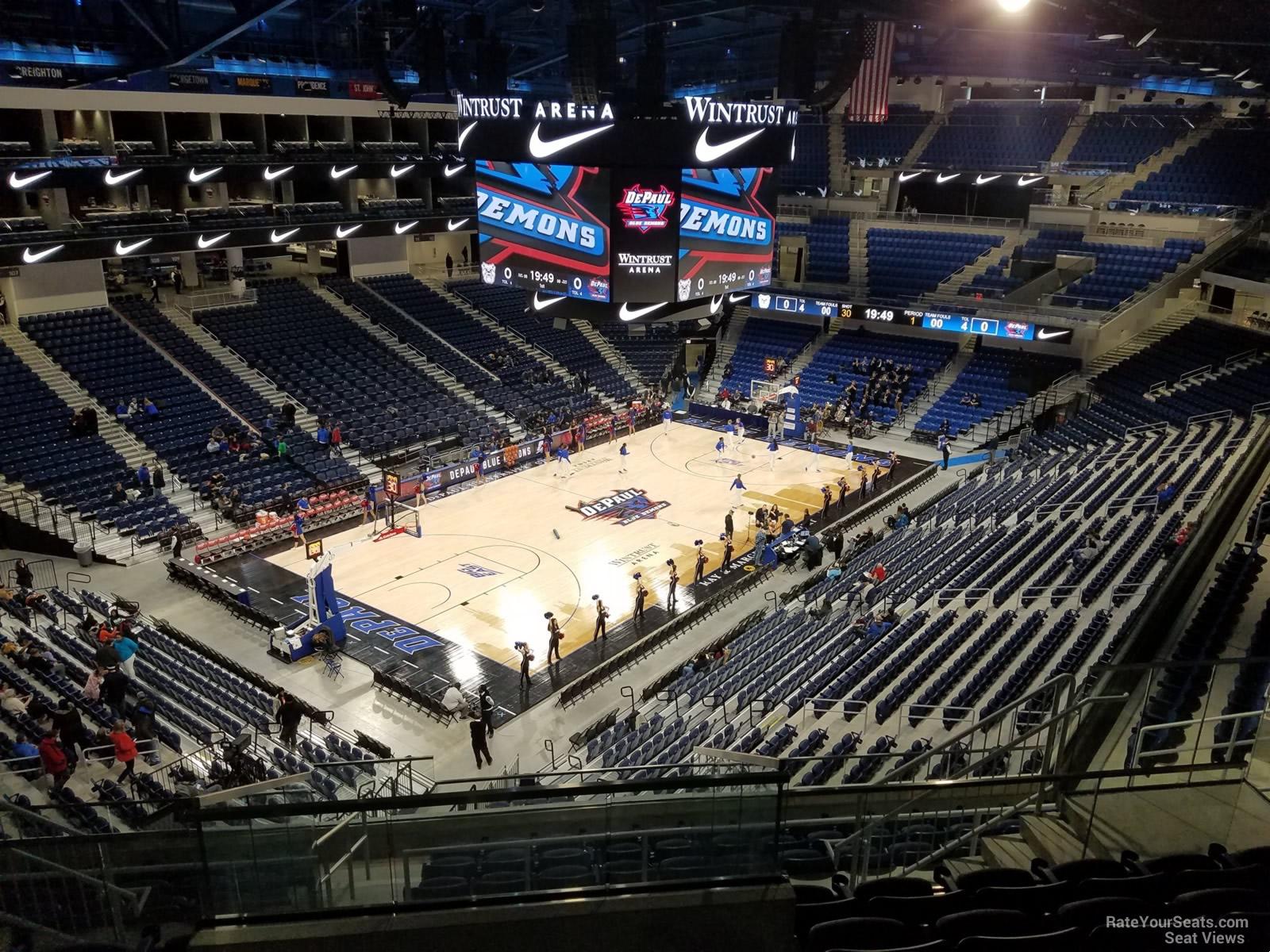 Exterior: Wintrust Arena Section 229