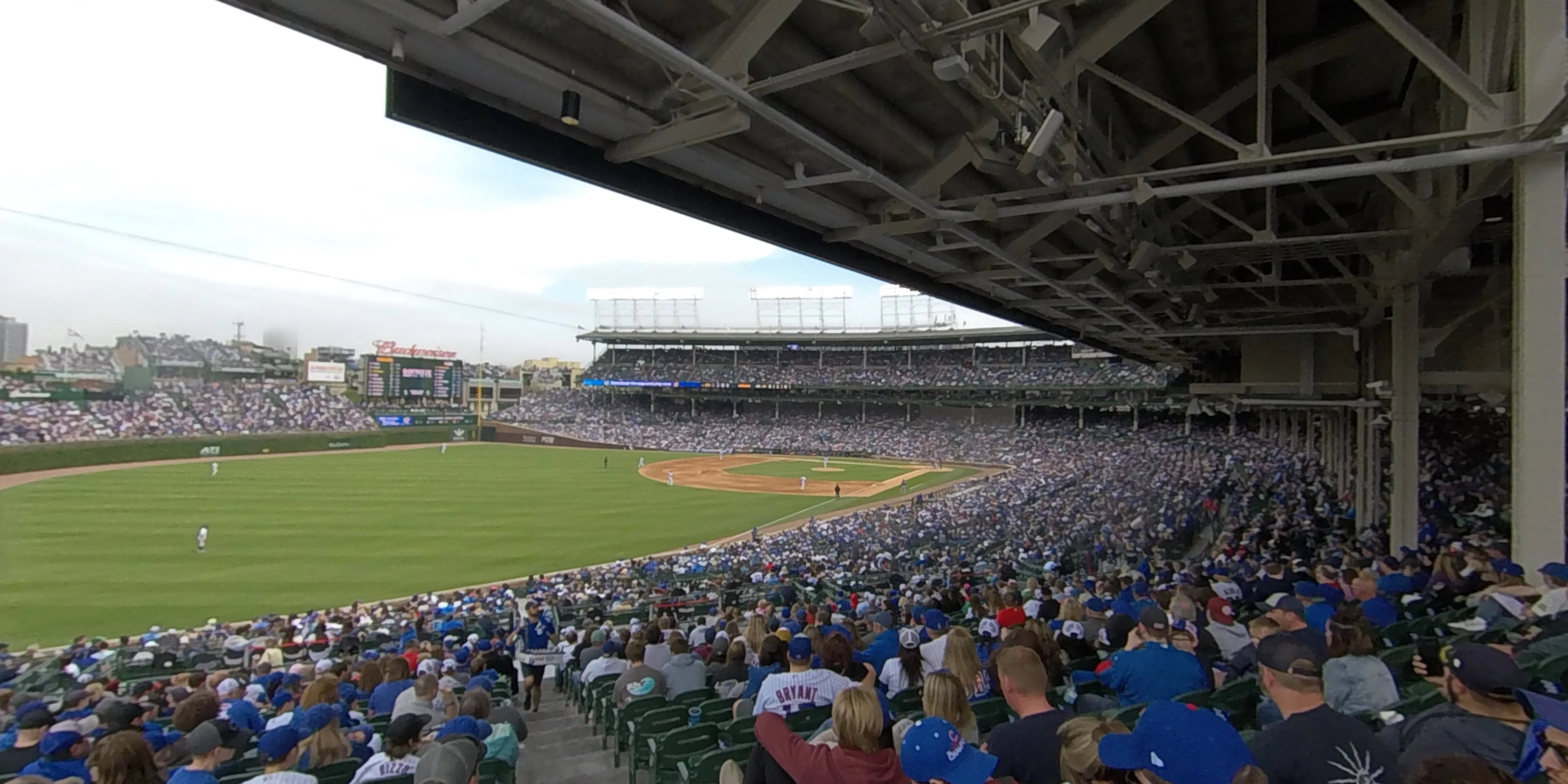 360° Photo From Wrigley Field Section 204