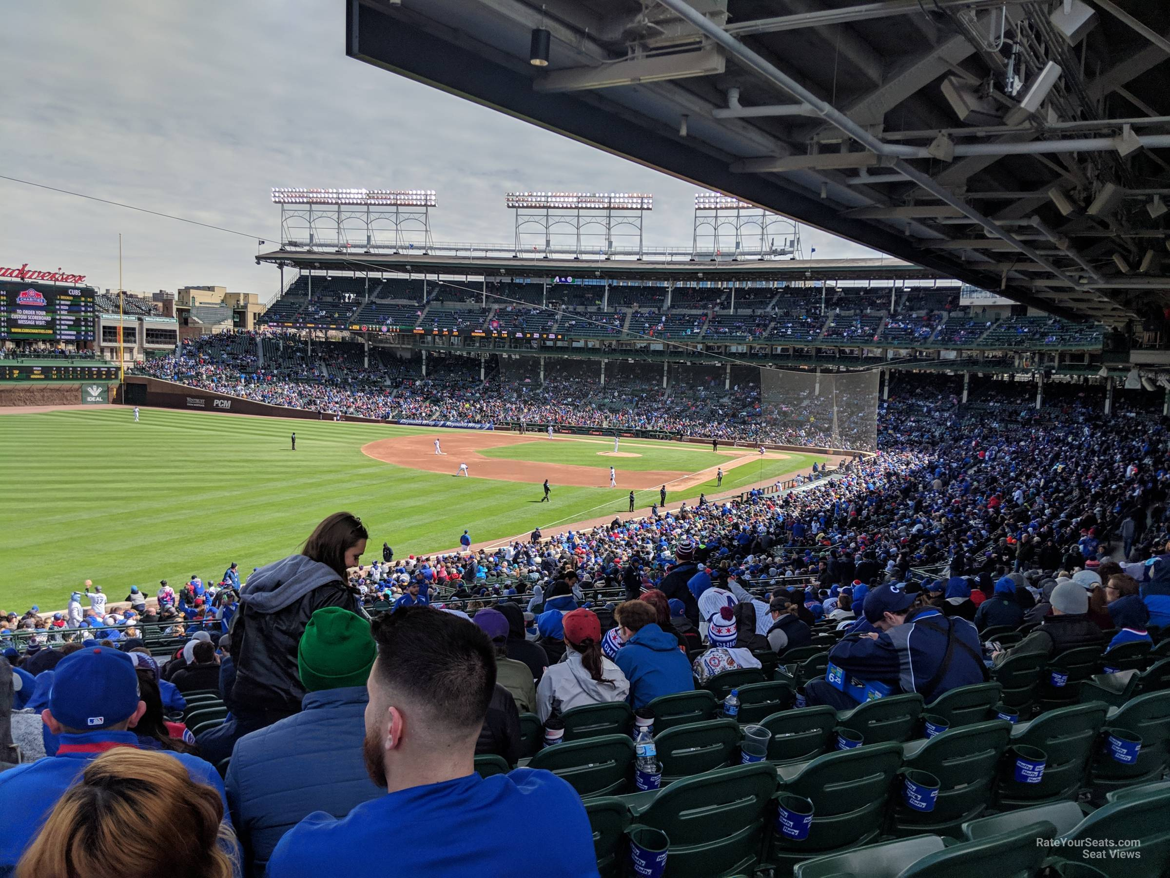 Seat View for Wrigley Field Section 204, Row 22
