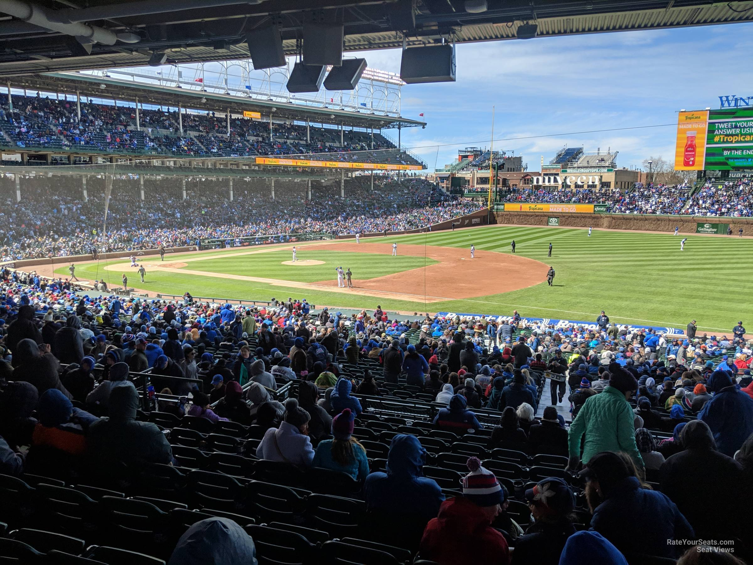 Seat View for Wrigley Field Section 227, Row 12