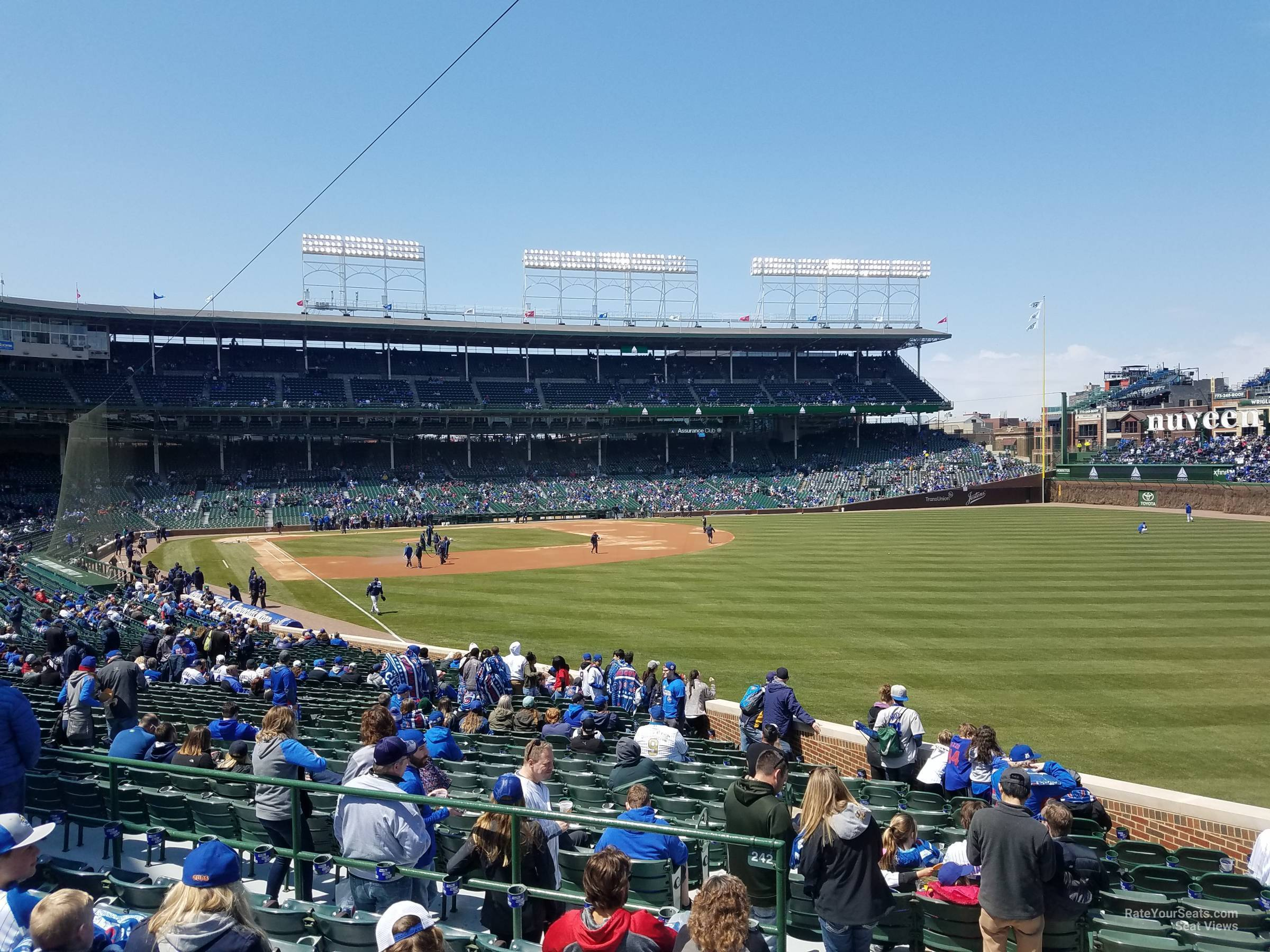 Wrigley Field Section 232 - Chicago Cubs - RateYourSeats.com