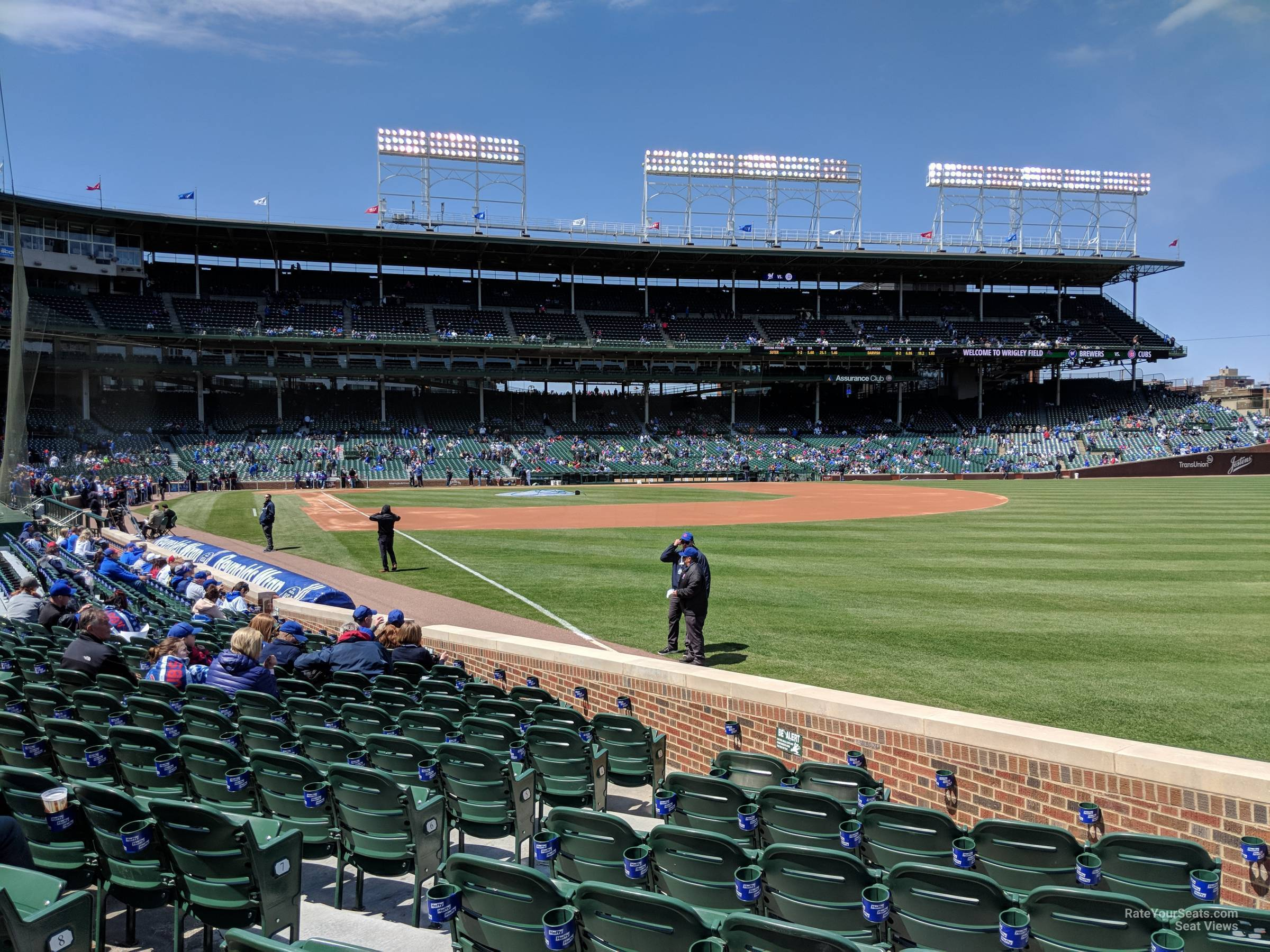 Seat View for Wrigley Field Section 40 Row 10