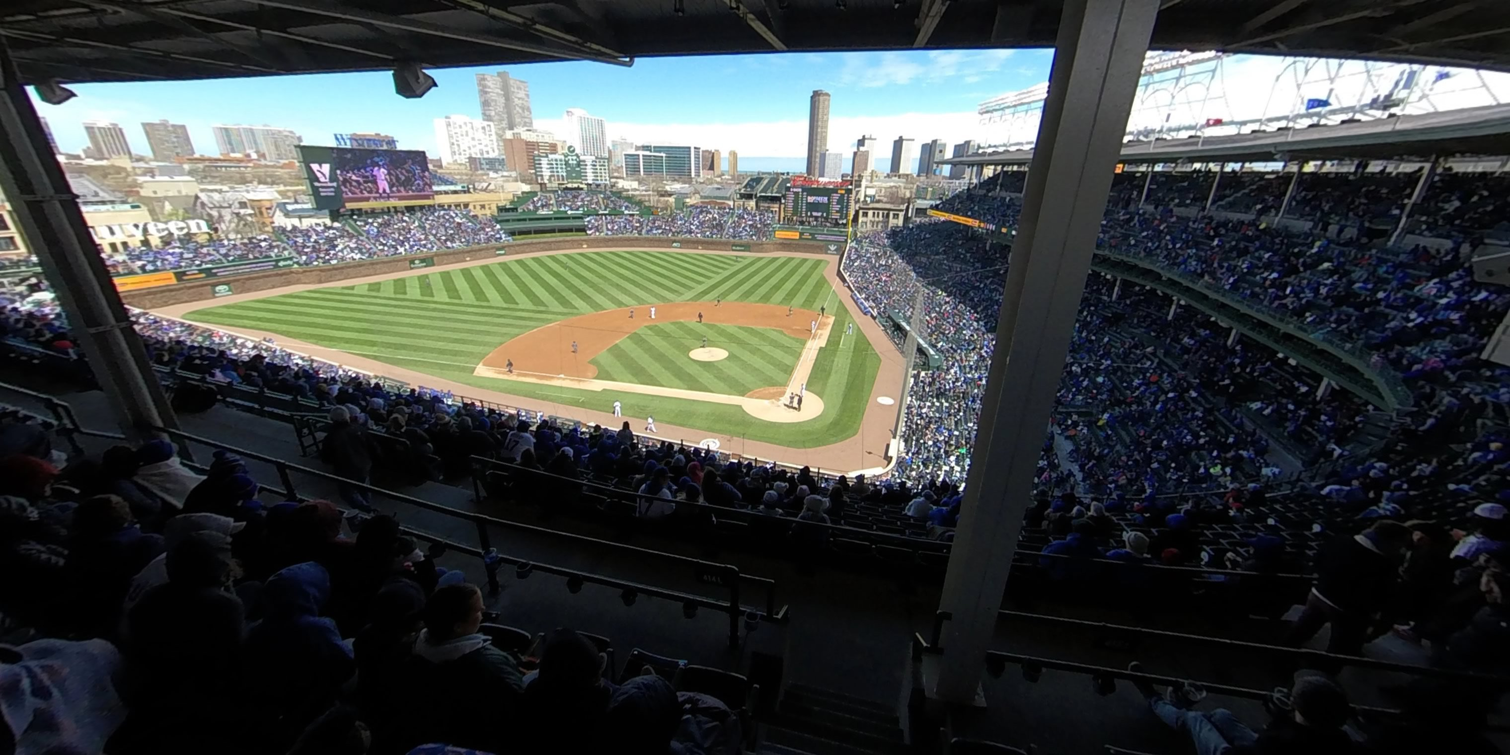 360° Photo From Wrigley Field Section 415
