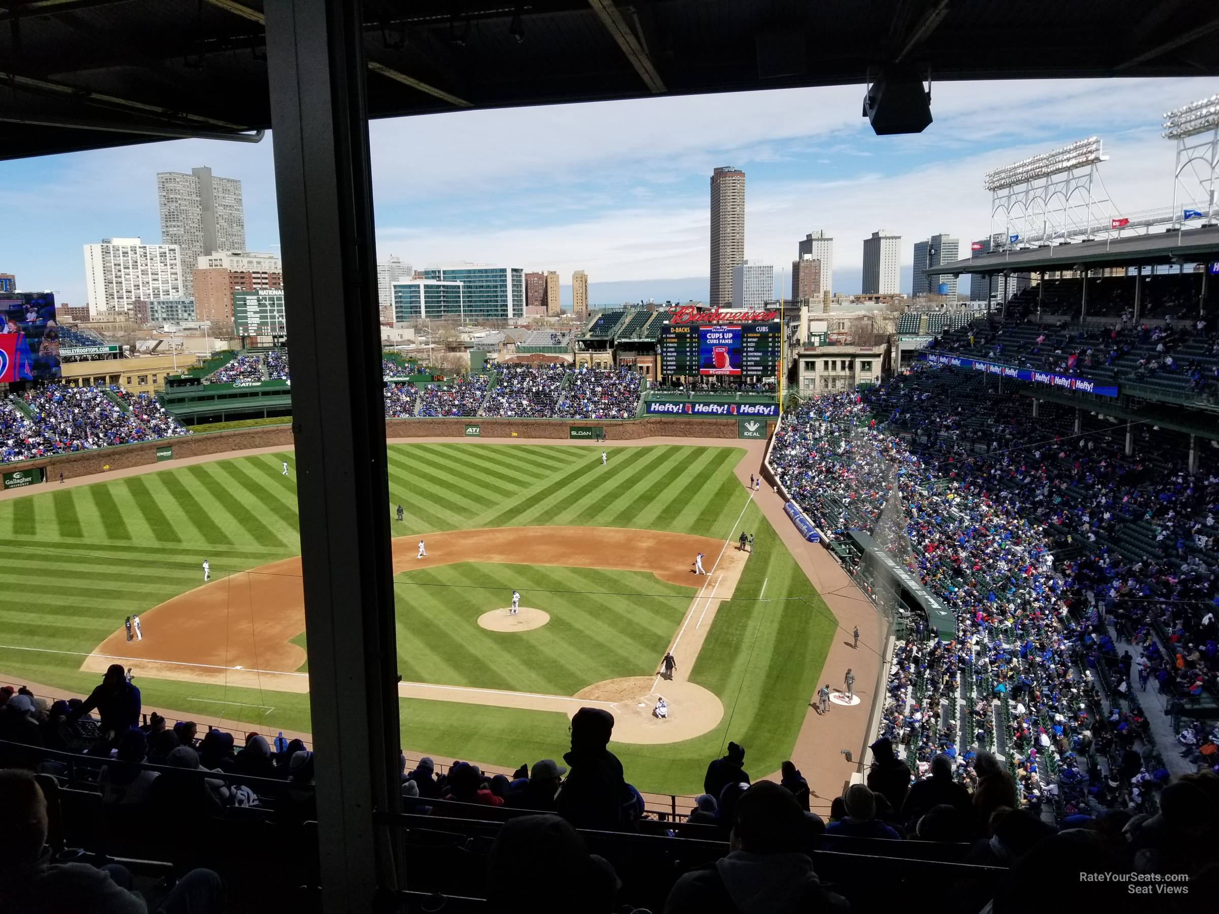 Seat View for Wrigley Field Section 415, Row 5