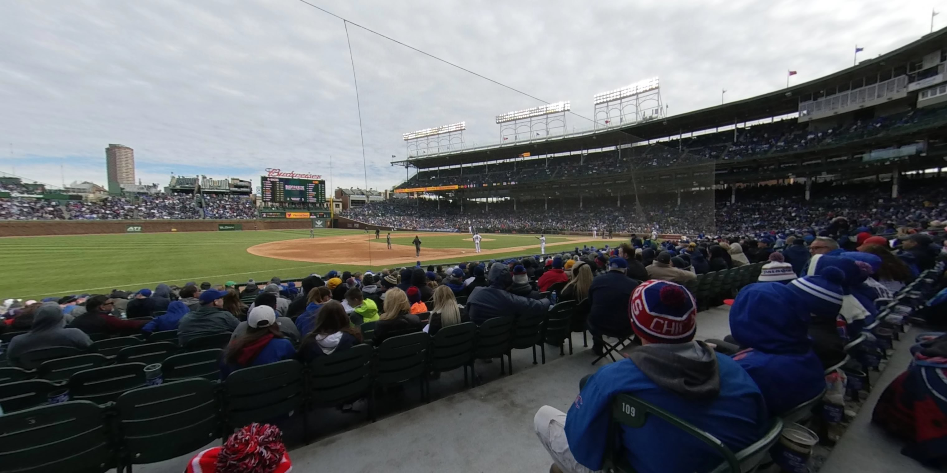 Wrigley Field Section 8 - Chicago Cubs - RateYourSeats.com