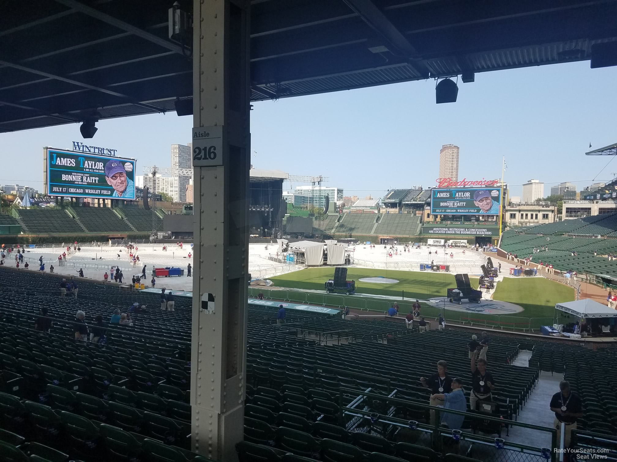 Wrigley Field Section 216 Concert Seating - RateYourSeats.com