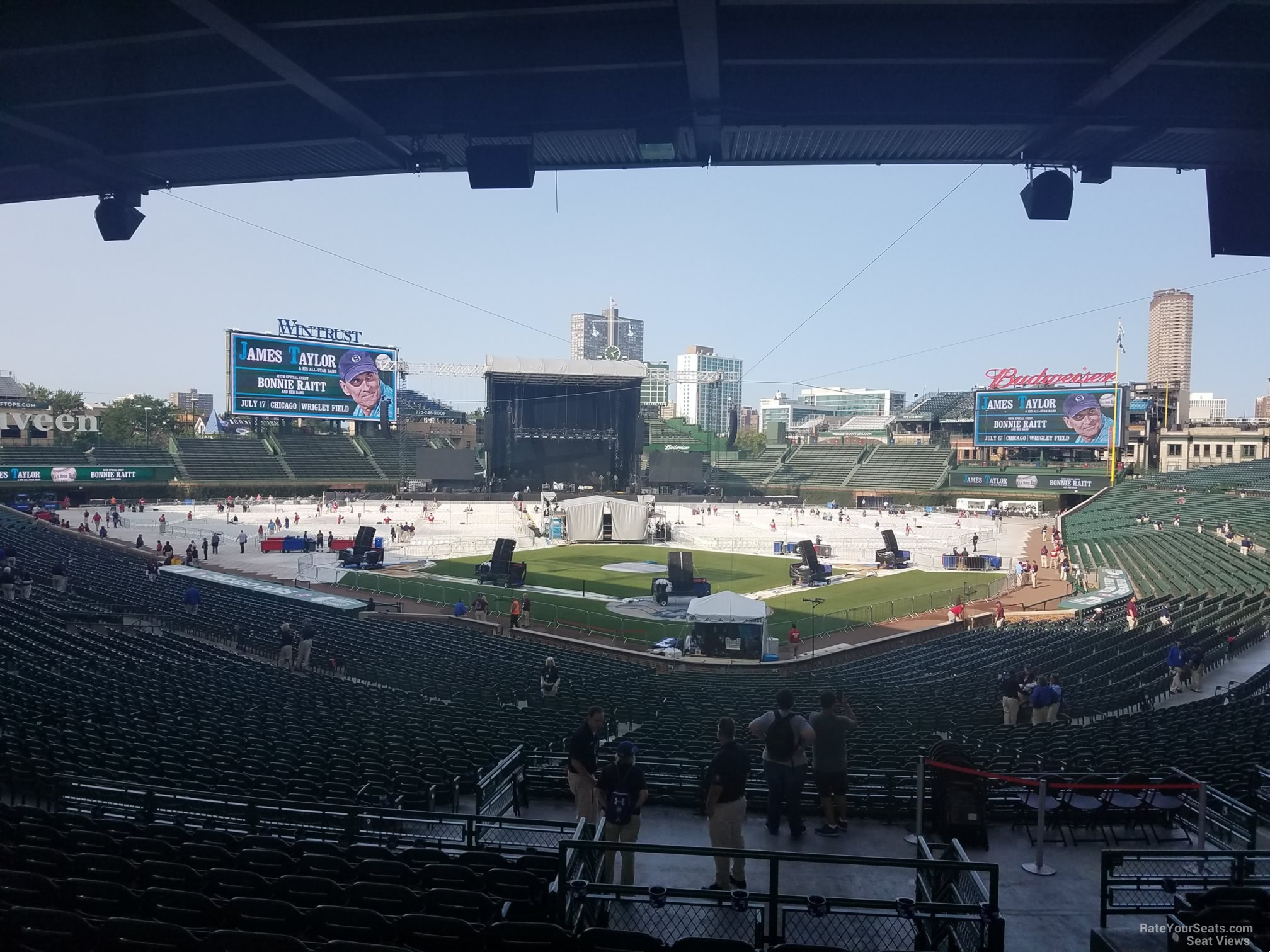 Concert Seat View For Wrigley Field Section 216 Row 11