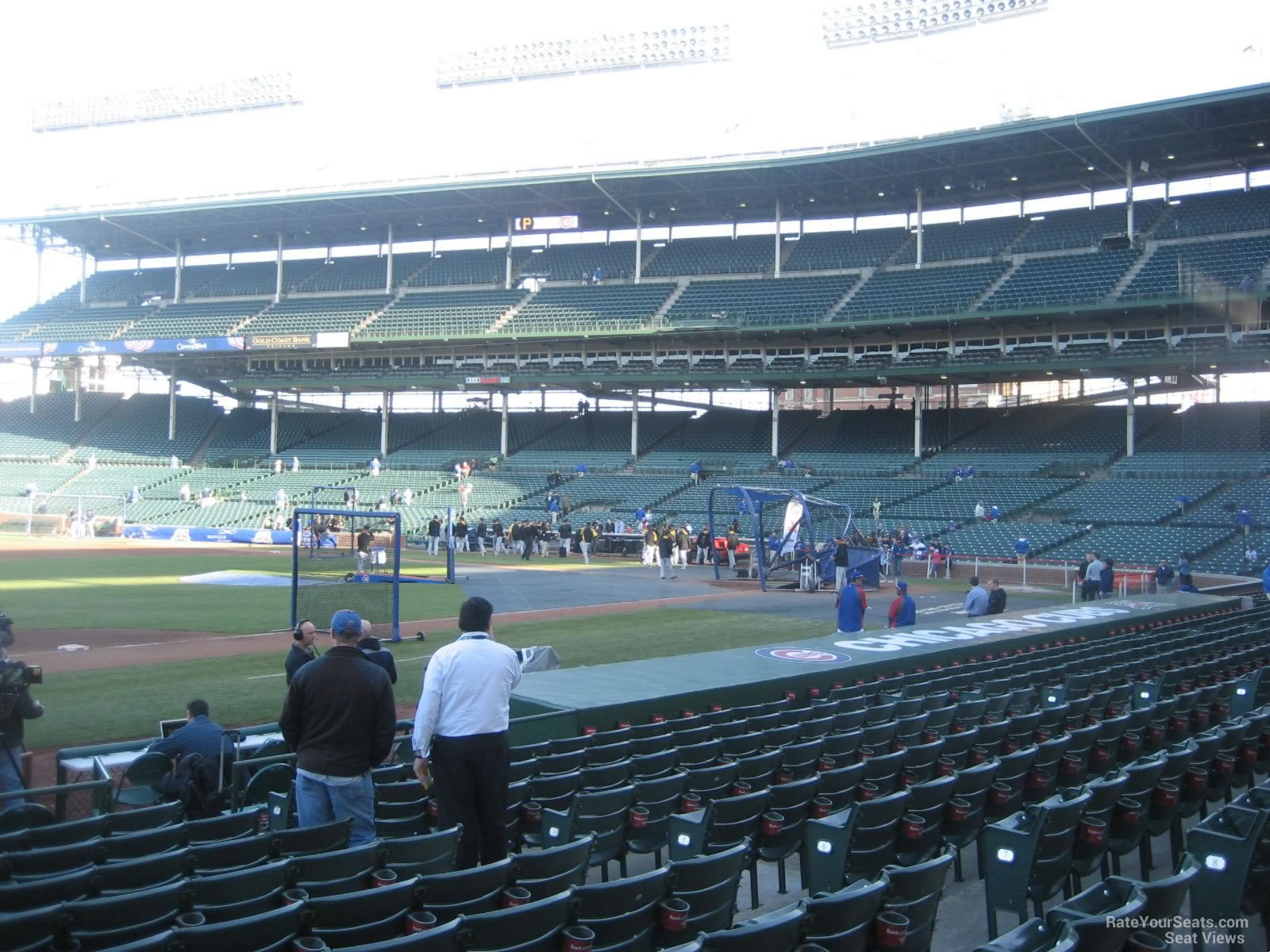Seat View for Wrigley Field Section 10