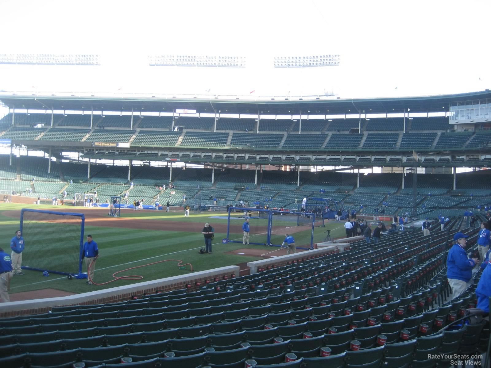 Seat View for Wrigley Field Section 105