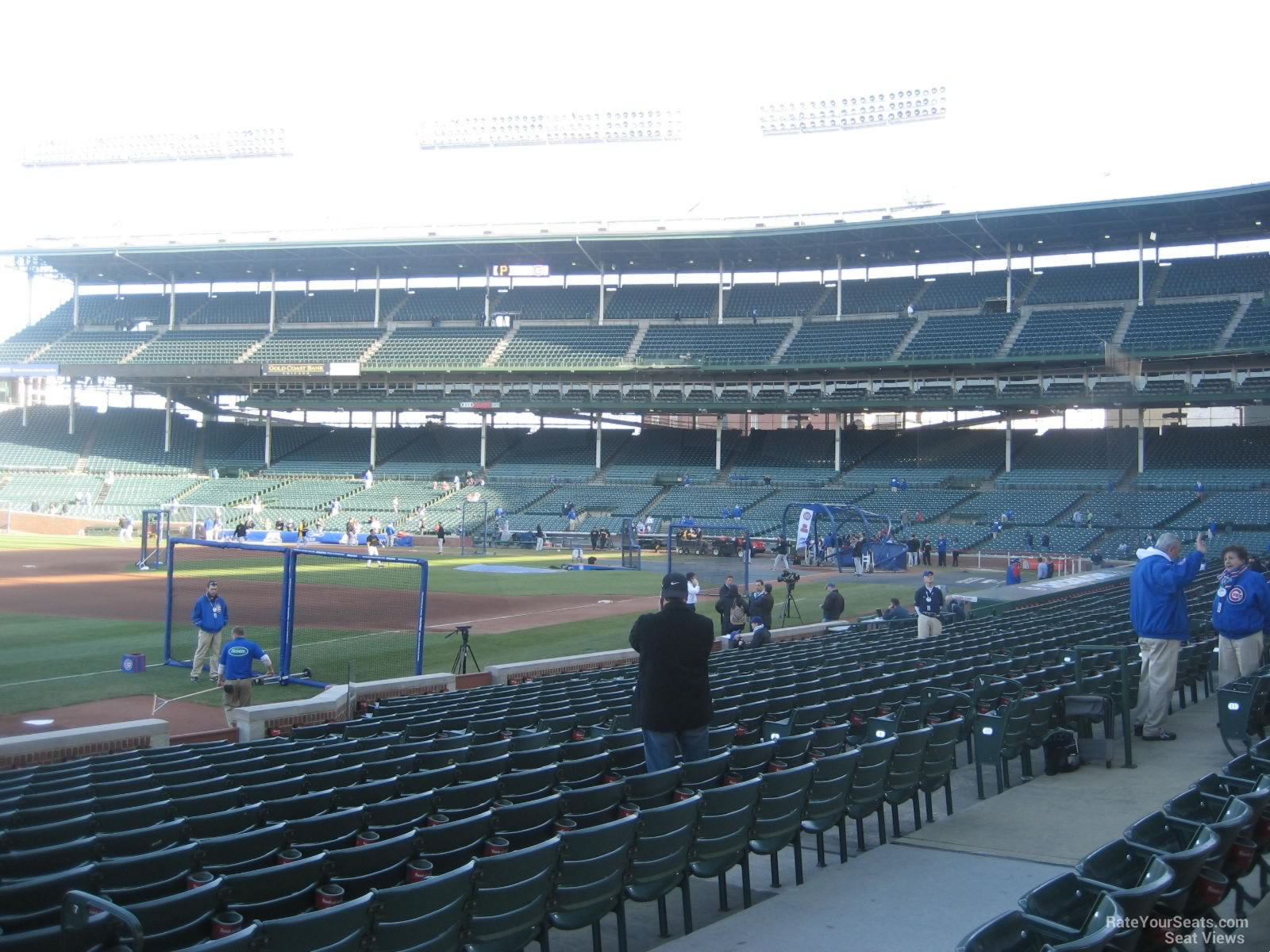 Wrigley Field Section 108 Chicago Cubs RateYourSeats