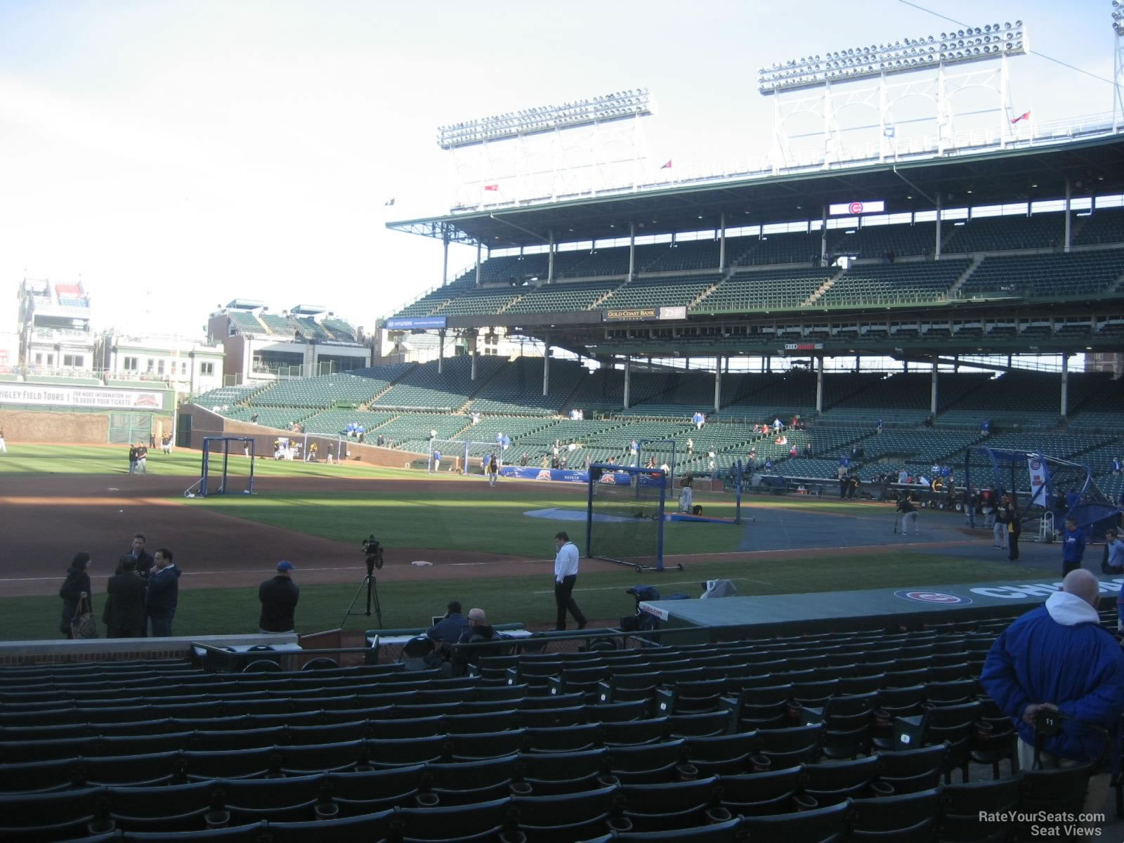 Seat View for Wrigley Field Section 111