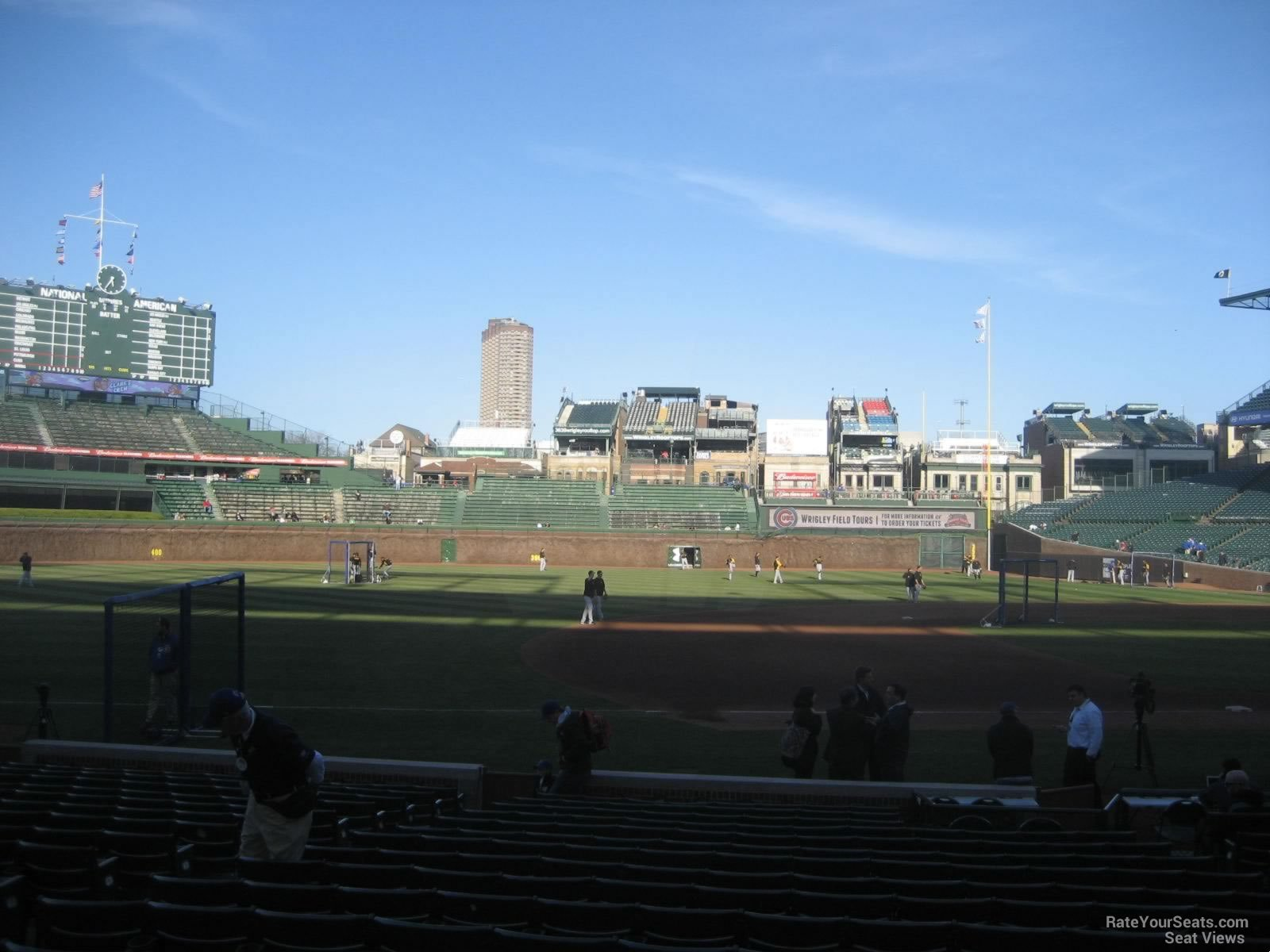 Wrigley Field Section 109 - Chicago Cubs - RateYourSeats.com