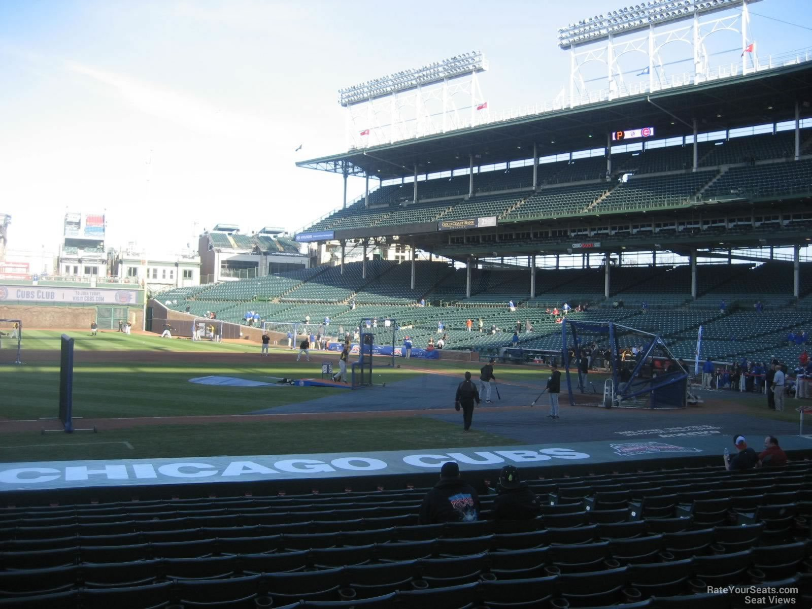 Seat View for Wrigley Field Section 114