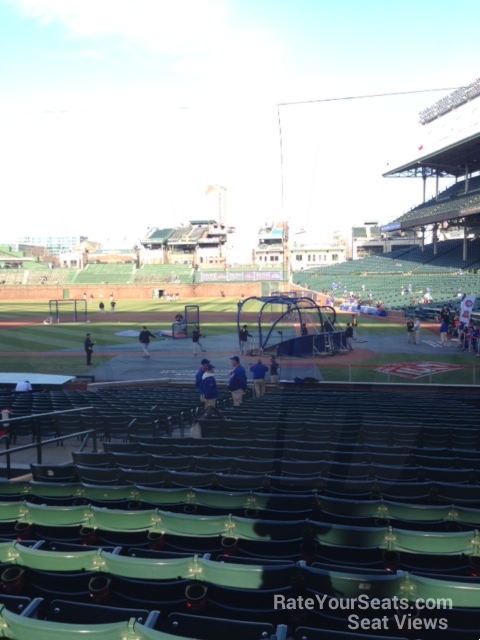 Wrigley Field Section 116 Chicago Cubs Rateyourseats Com