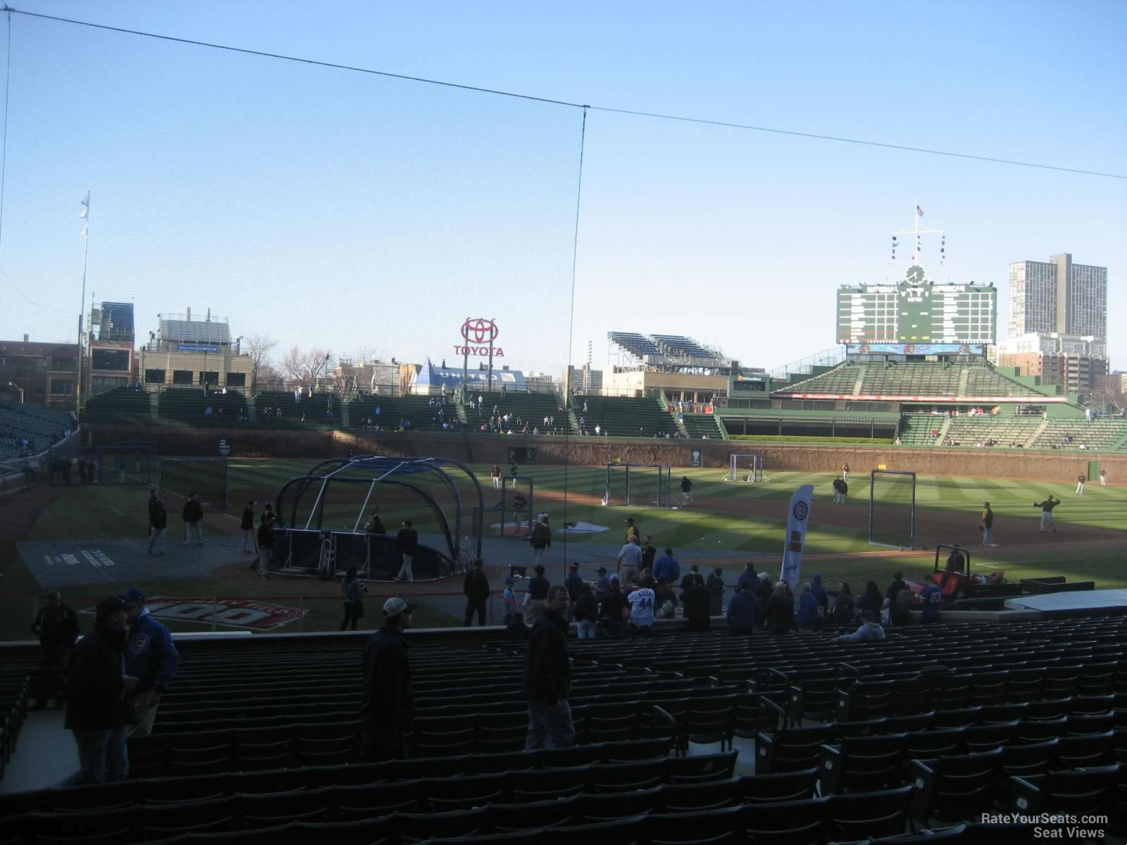 Seat View for Wrigley Field Section 123