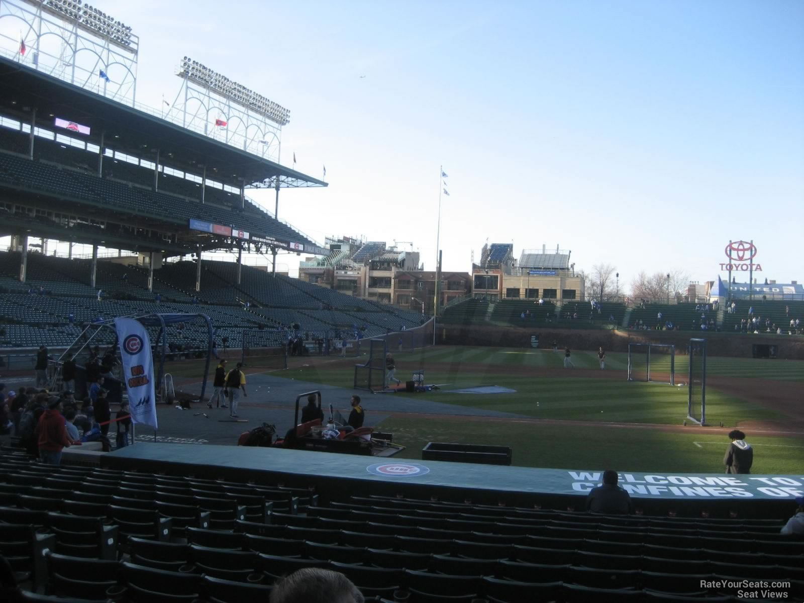 Seat View for Wrigley Field Section 127