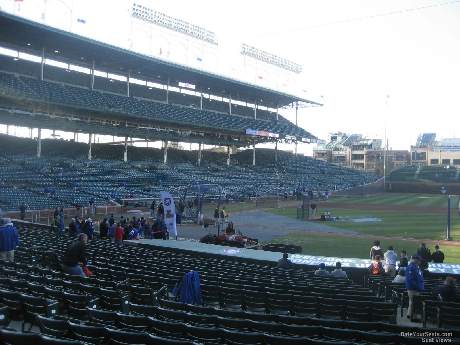 Seat View for Wrigley Field Section 129