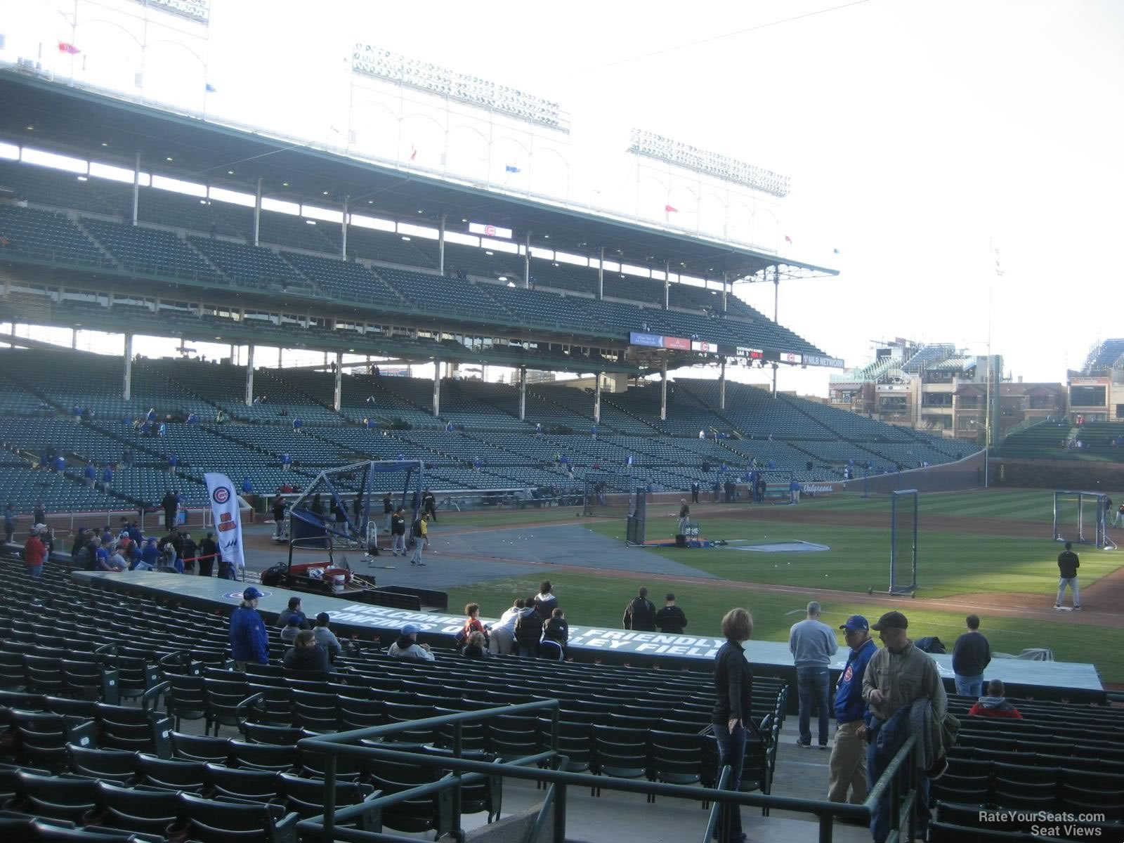 Seat View for Wrigley Field Section 130