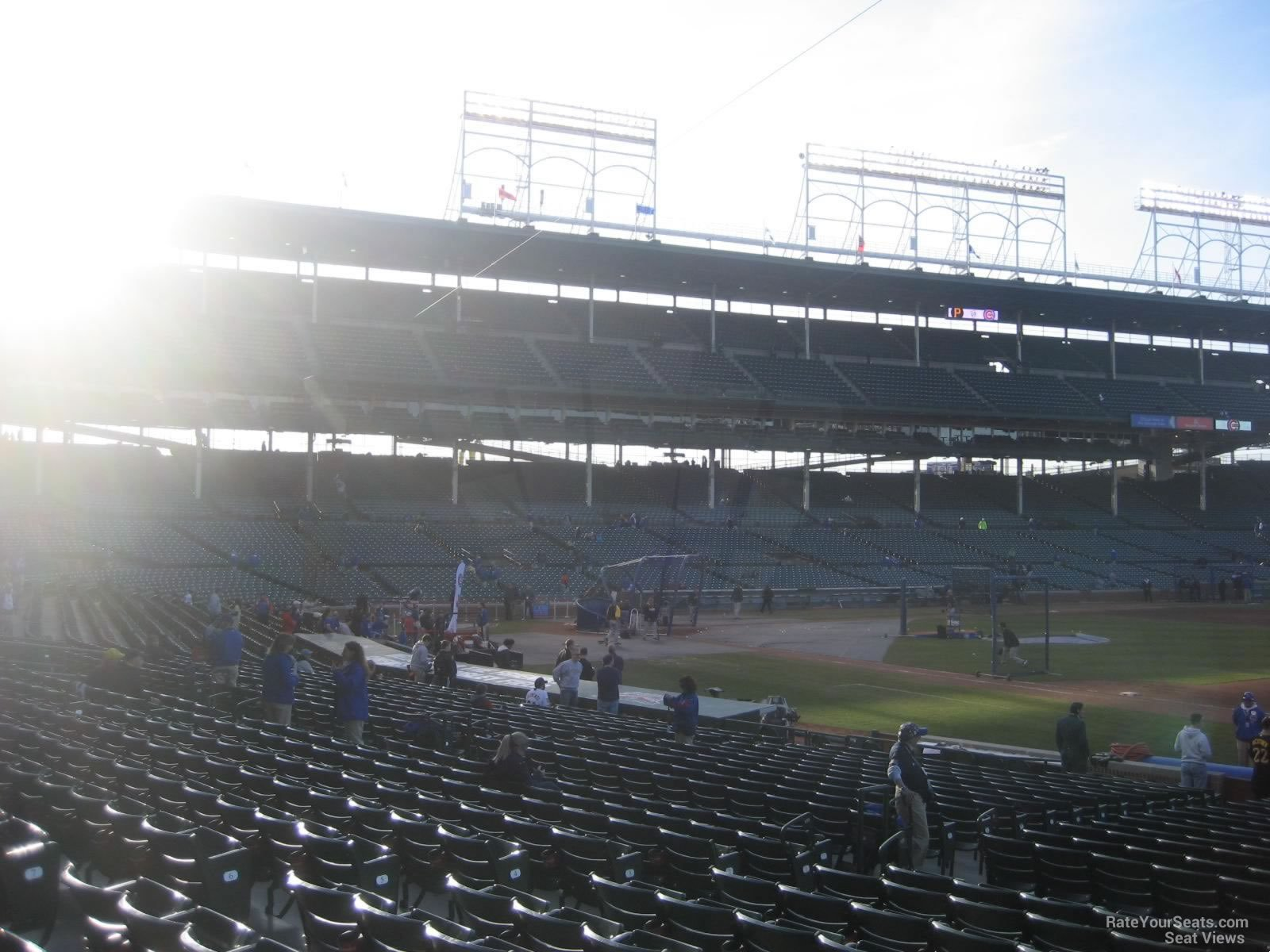 Seat View for Wrigley Field Section 134