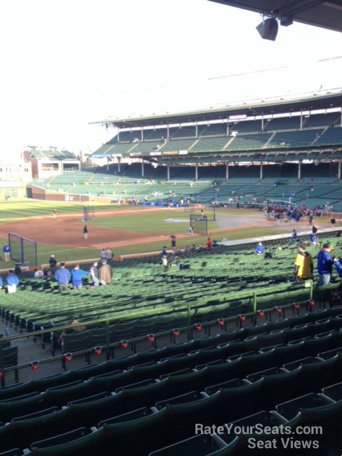 Seat View for Wrigley Field Section 207, Row 8