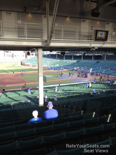 Wrigley Field Section 209 - Chicago Cubs - RateYourSeats.com