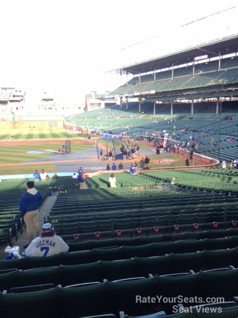 Wrigley Field Section 215 - Chicago Cubs - RateYourSeats.com