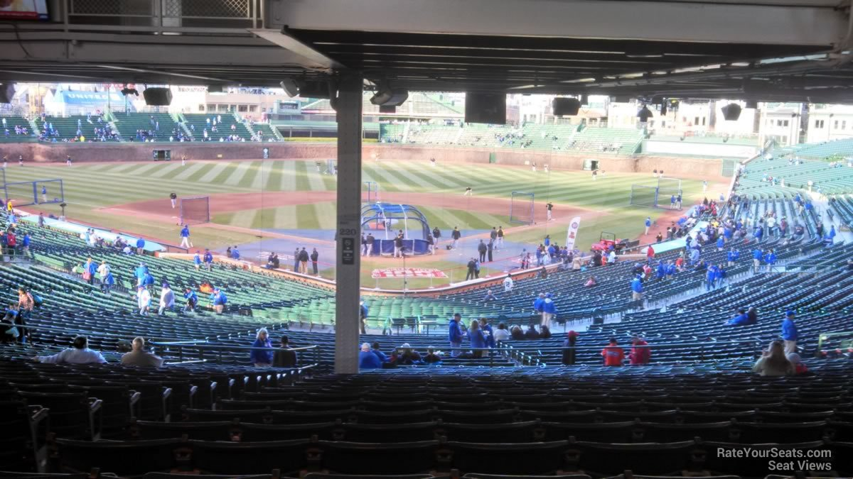 Wrigley Field Section 220 - Chicago Cubs - RateYourSeats.com