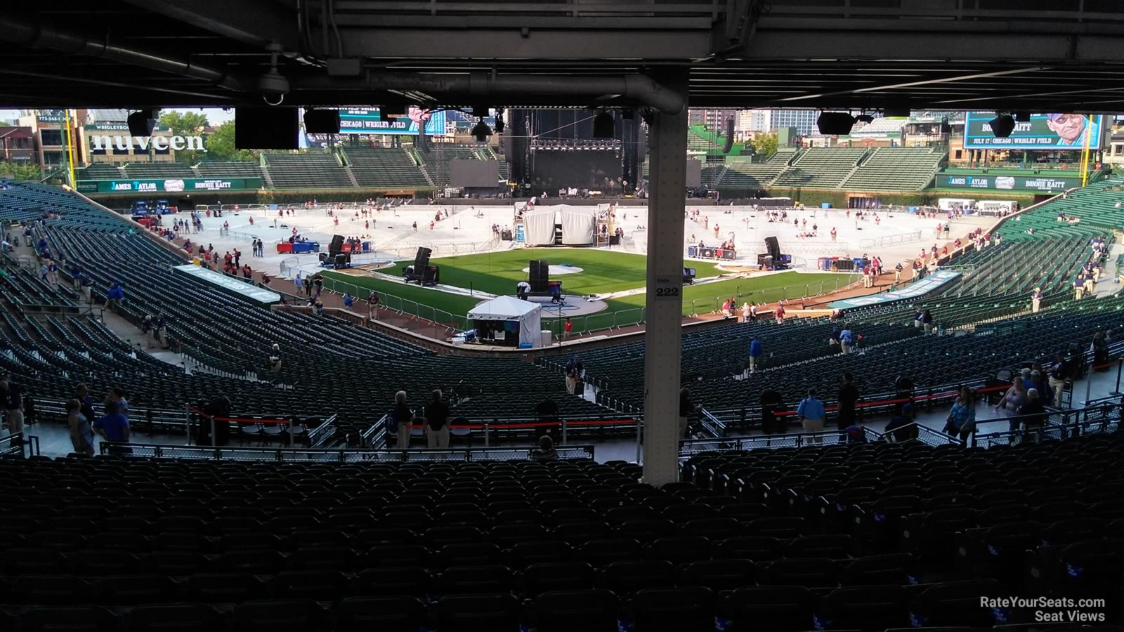 Wrigley Field Section 222 Concert Seating - RateYourSeats.com