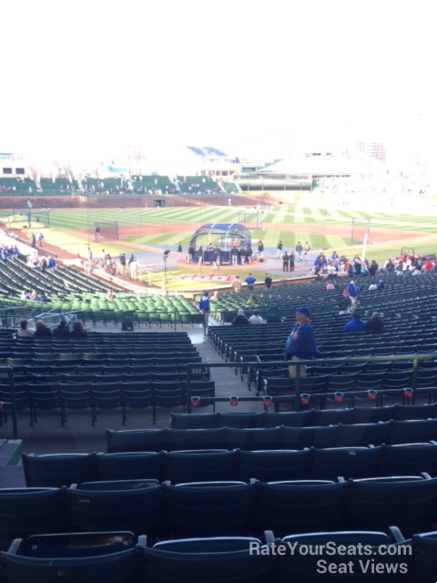 Chicago Cubs - Wrigley Field Section 222 - RateYourSeats.com