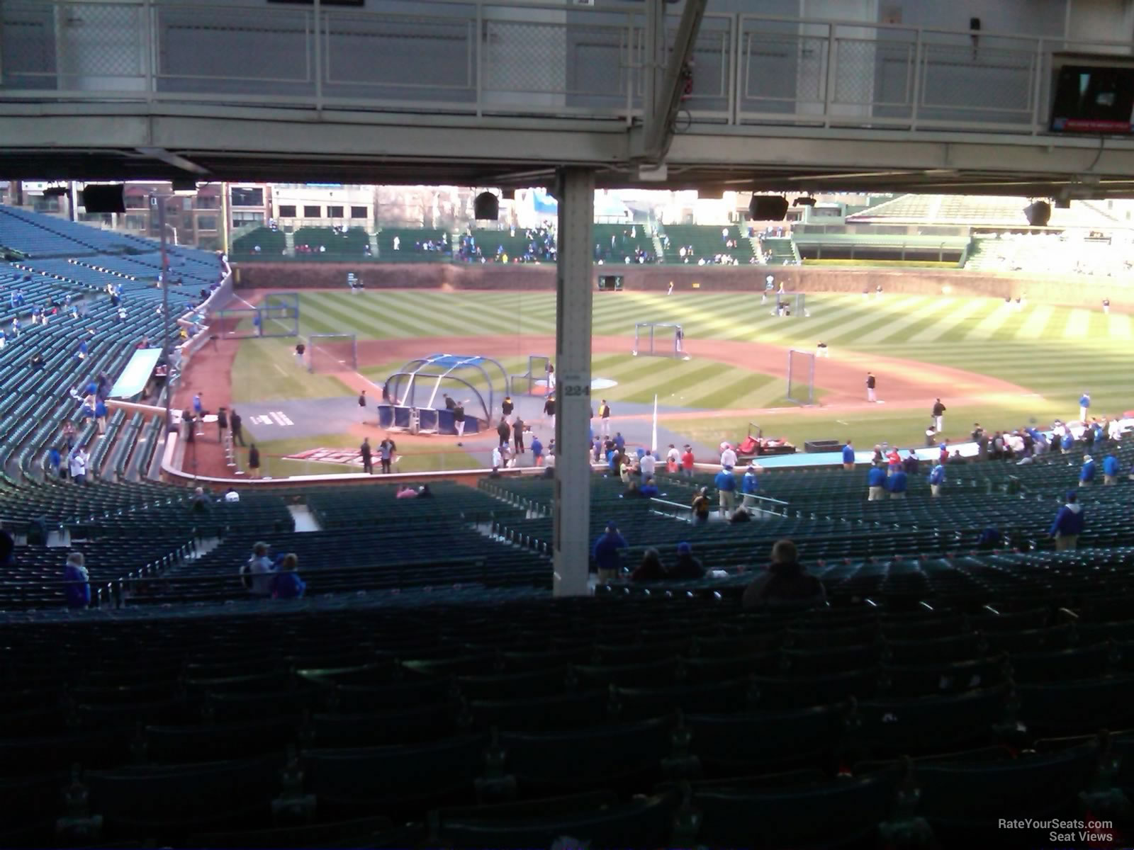 Wrigley Field Section 224 - Chicago Cubs - RateYourSeats.com