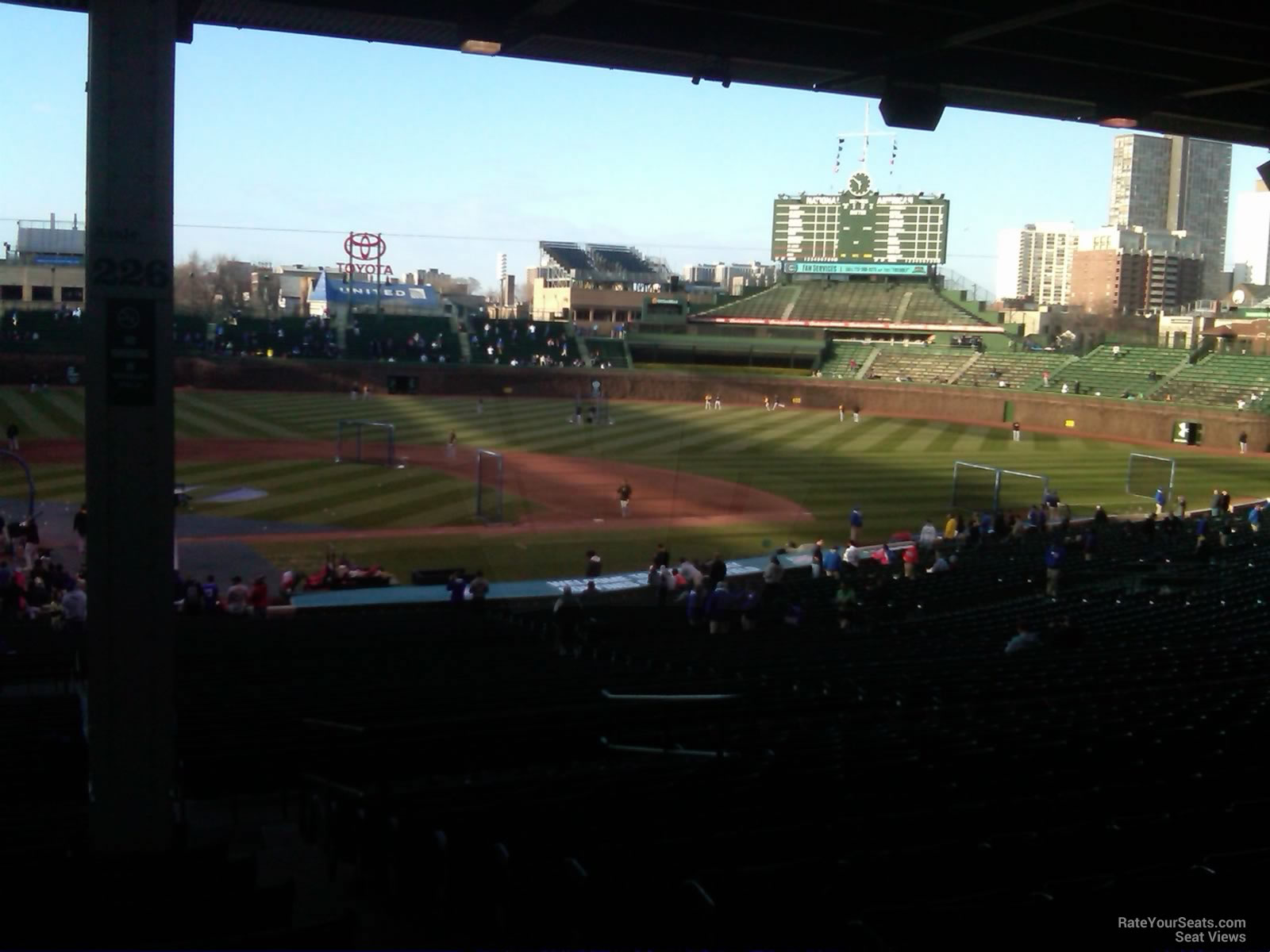 Wrigley Field Section 226 - Chicago Cubs - RateYourSeats.com