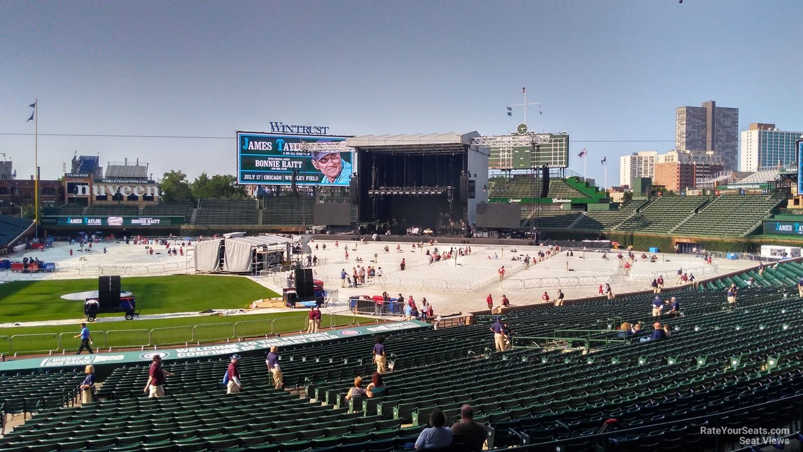 Wrigley Field Section 228 Concert Seating - RateYourSeats.com
