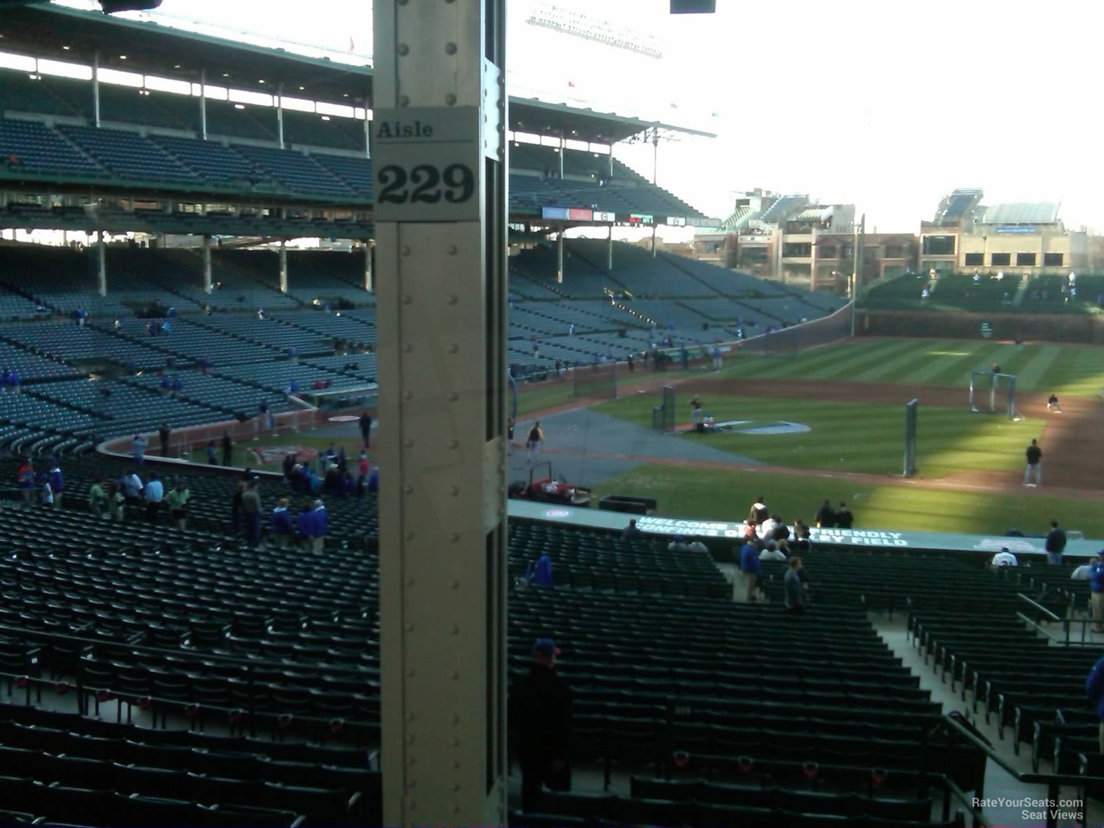 Wrigley Field Section 229 Chicago Cubs RateYourSeats