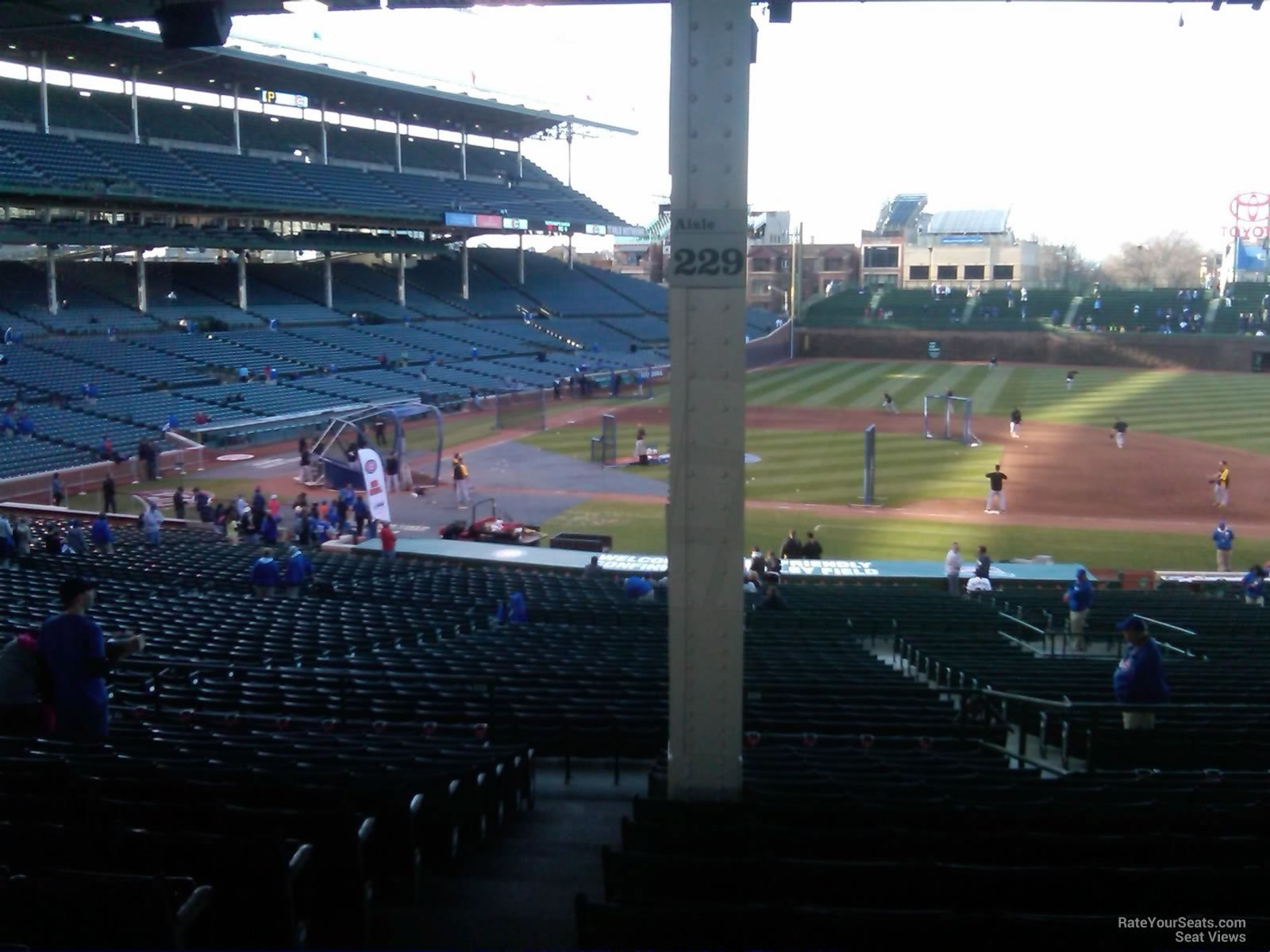 Wrigley Field Section 229 - Chicago Cubs - RateYourSeats.com
