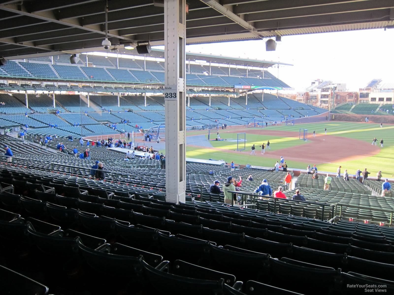 Seat View for Wrigley Field Section 233 Row 14