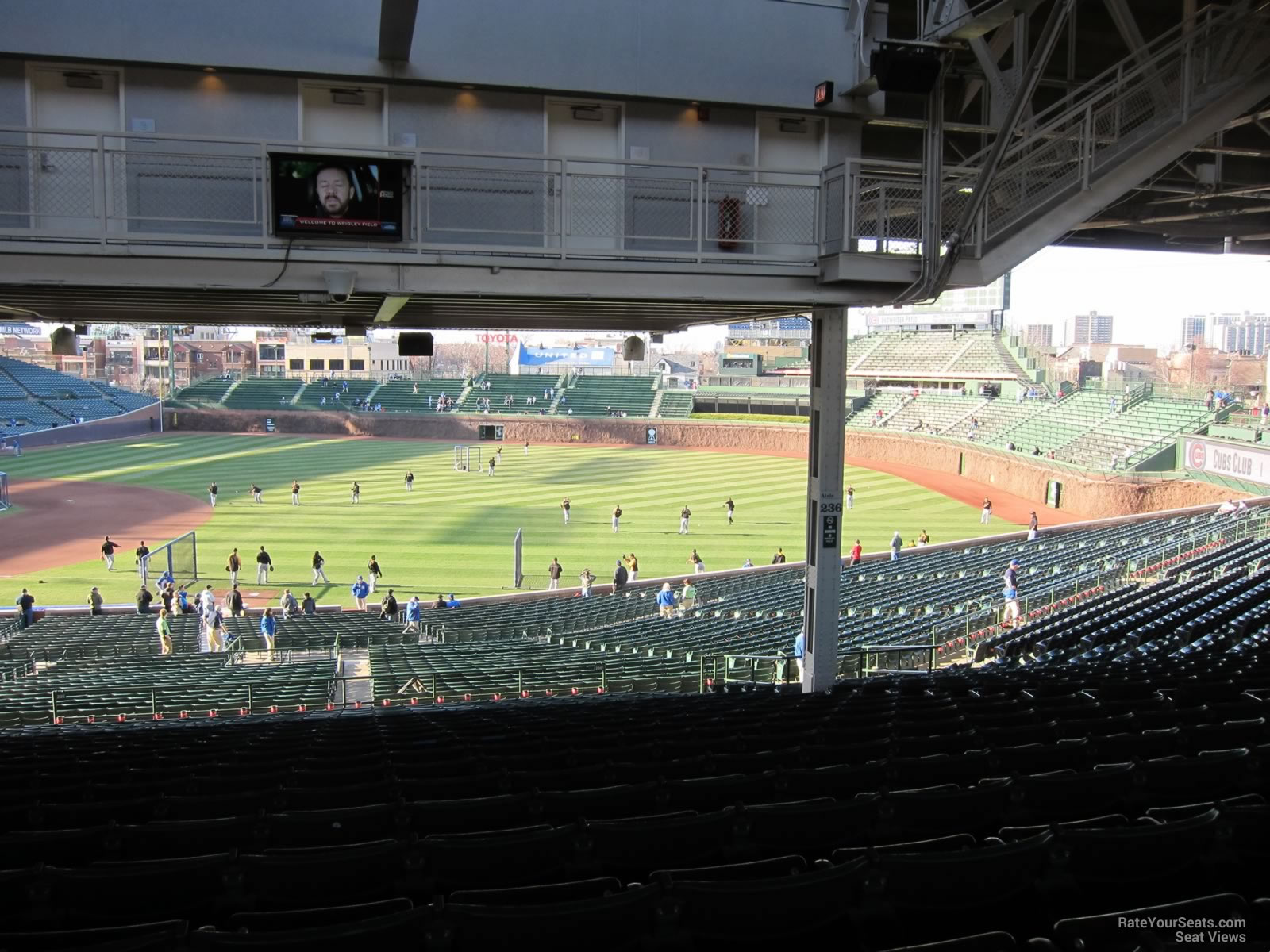 Wrigley Field Section 235 Chicago Cubs RateYourSeats