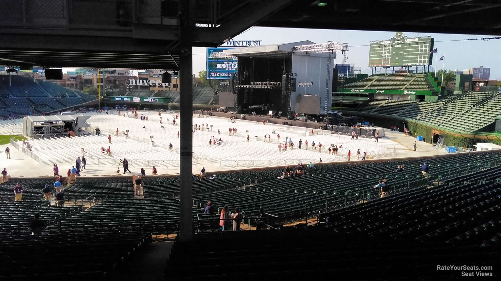 Wrigley Field Section 236 Concert Seating - RateYourSeats.com