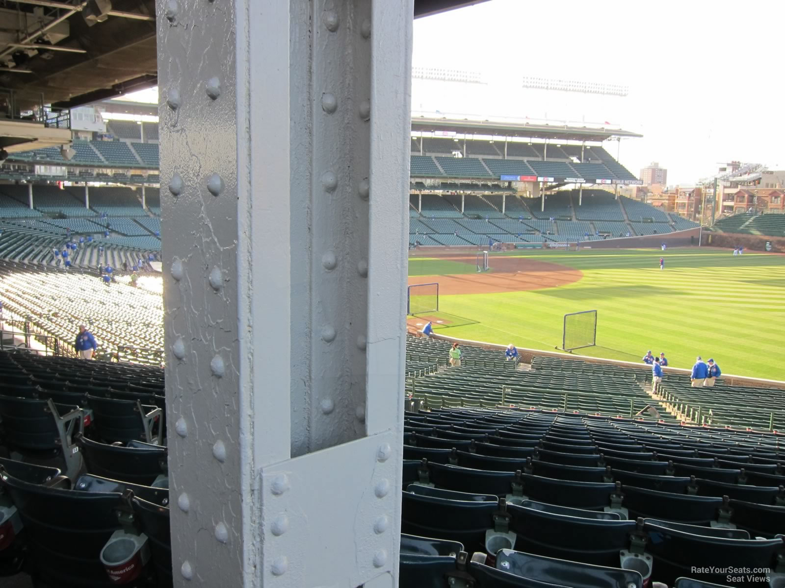 Wrigley Field Section 230 - Chicago Cubs - RateYourSeats.com