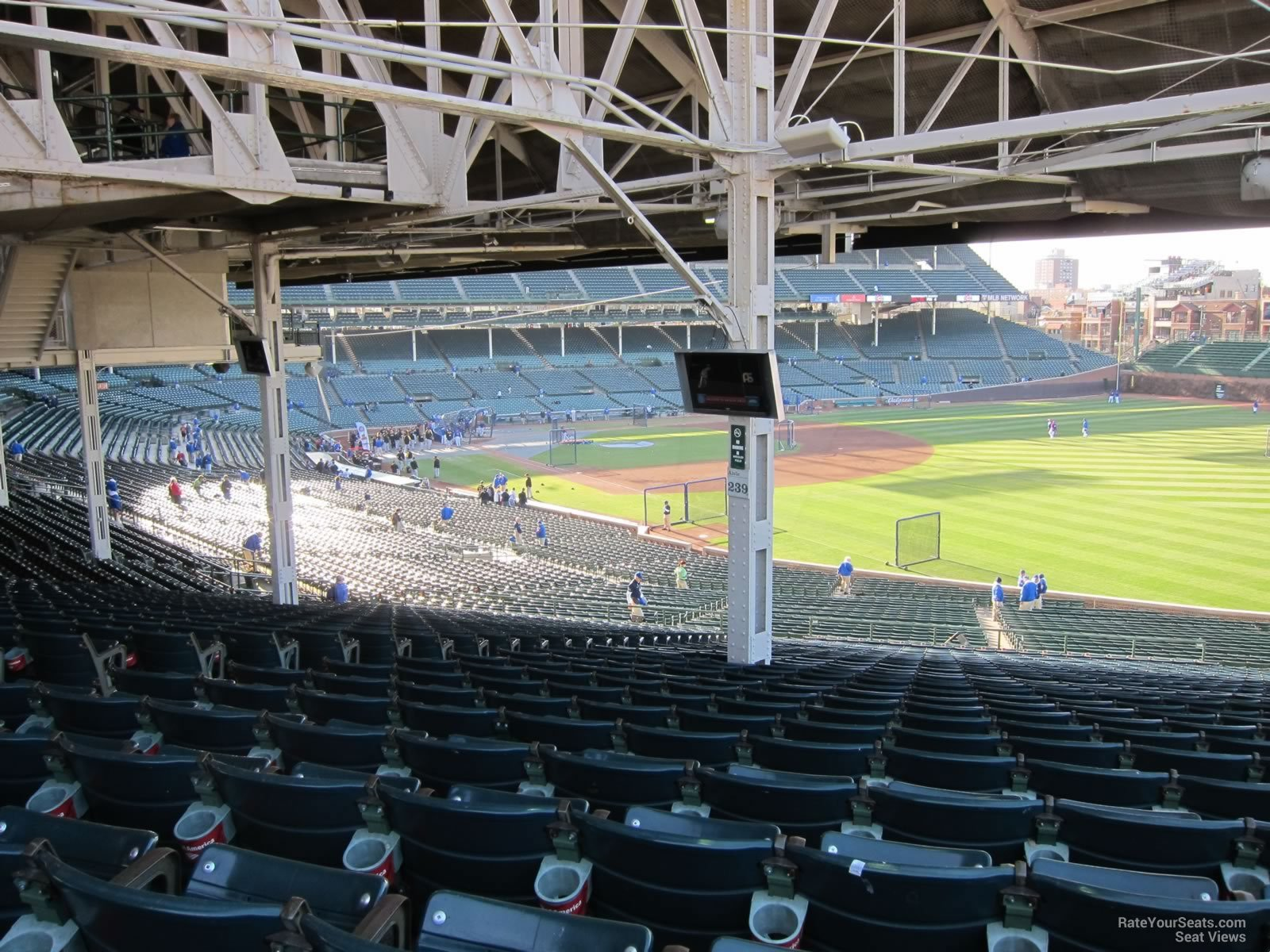 Chicago Cubs Wrigley Field Section 239 Rateyourseats Com