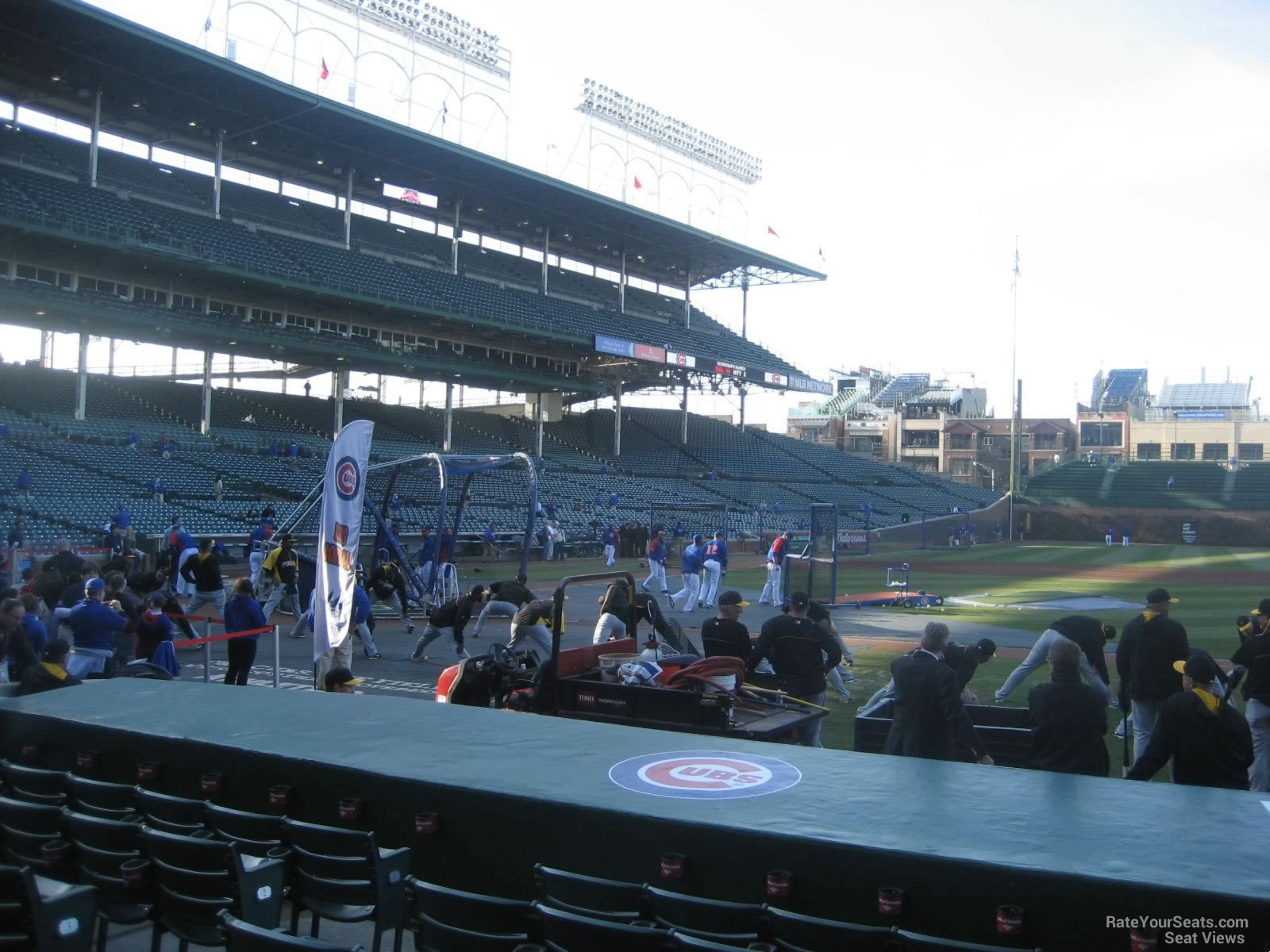 Seat View For Wrigley Field Section 30