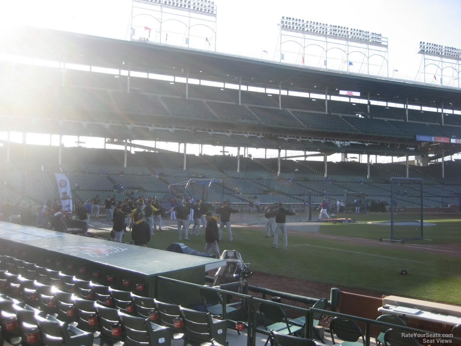 Seat View for Wrigley Field Section 33