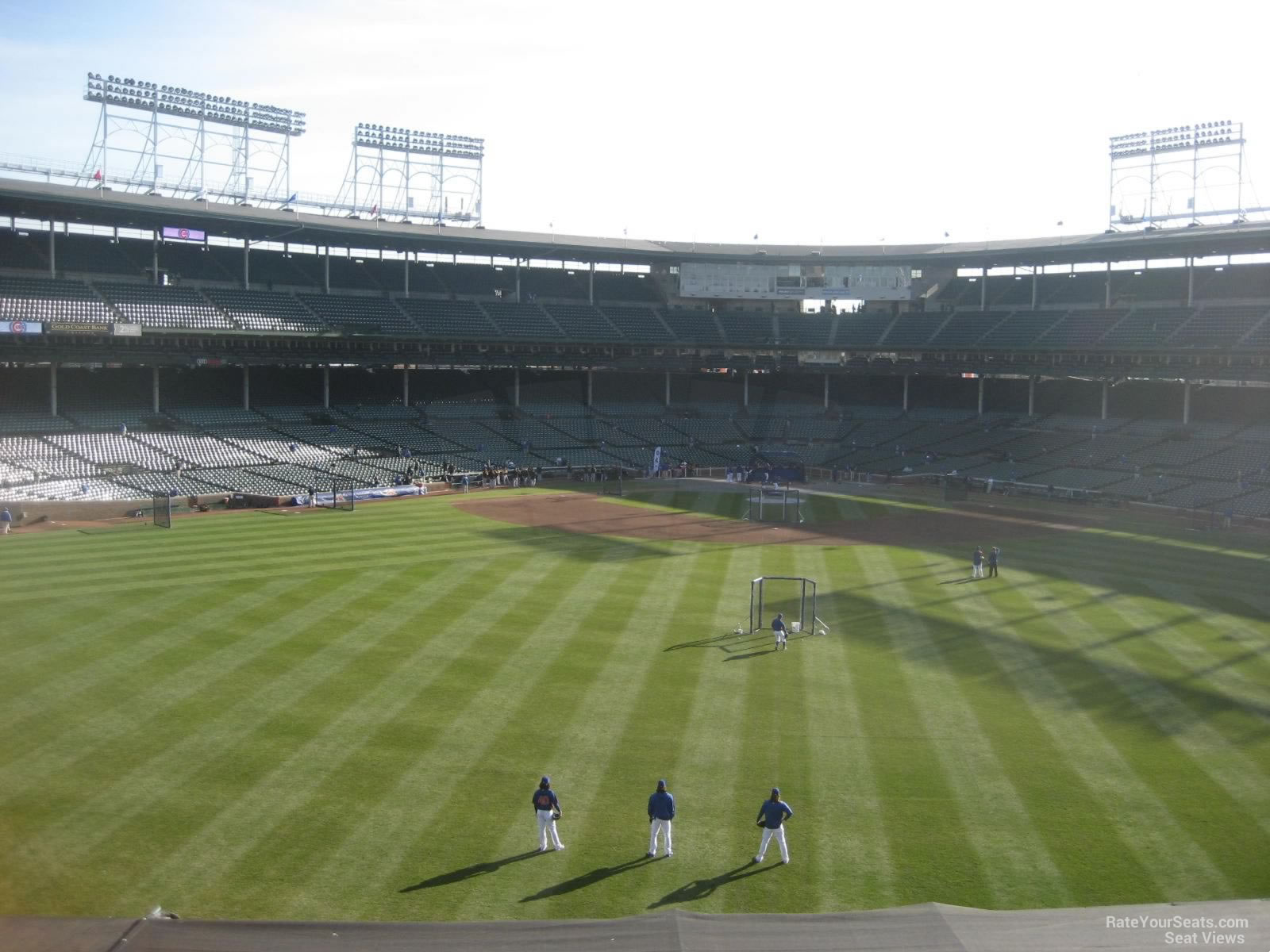 Wrigley Field Section 339 Chicago Cubs RateYourSeats