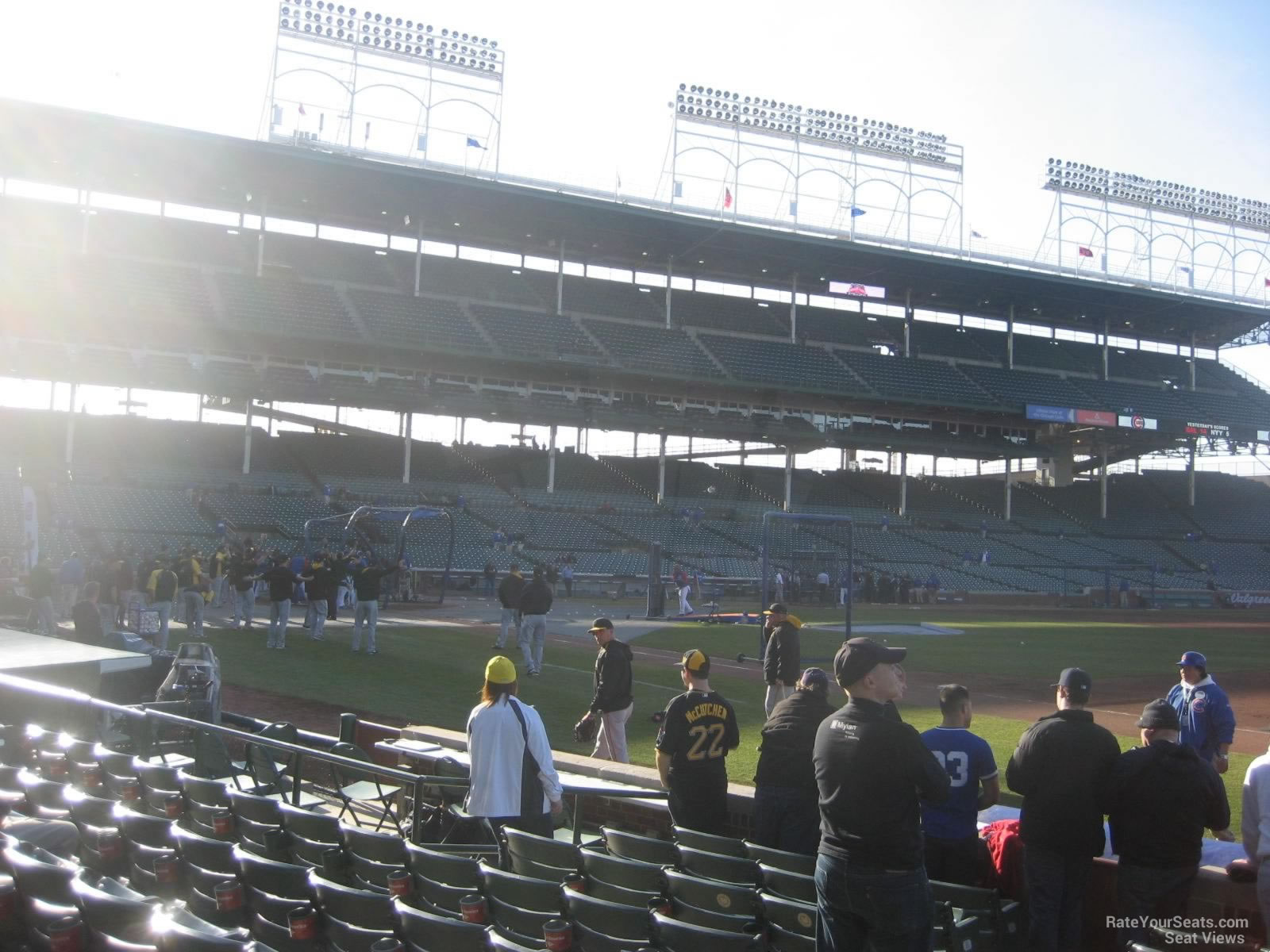 Seat View for Wrigley Field Section 34