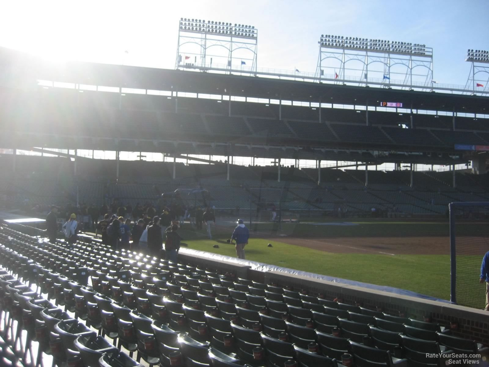 Wrigley Field Section 35 - Chicago Cubs - RateYourSeats.com