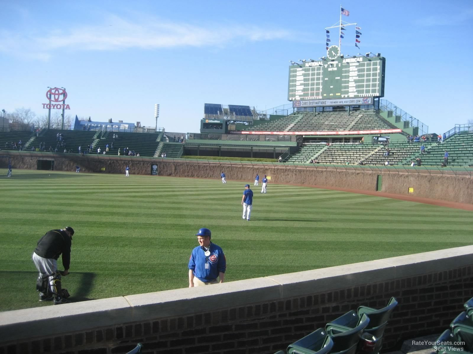 Seat View for Wrigley Field Section 38